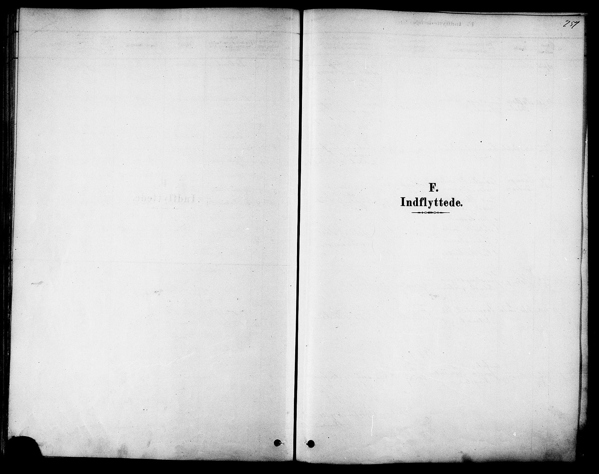 SAT, Ministerialprotokoller, klokkerbøker og fødselsregistre - Sør-Trøndelag, 616/L0410: Ministerialbok nr. 616A07, 1878-1893, s. 257