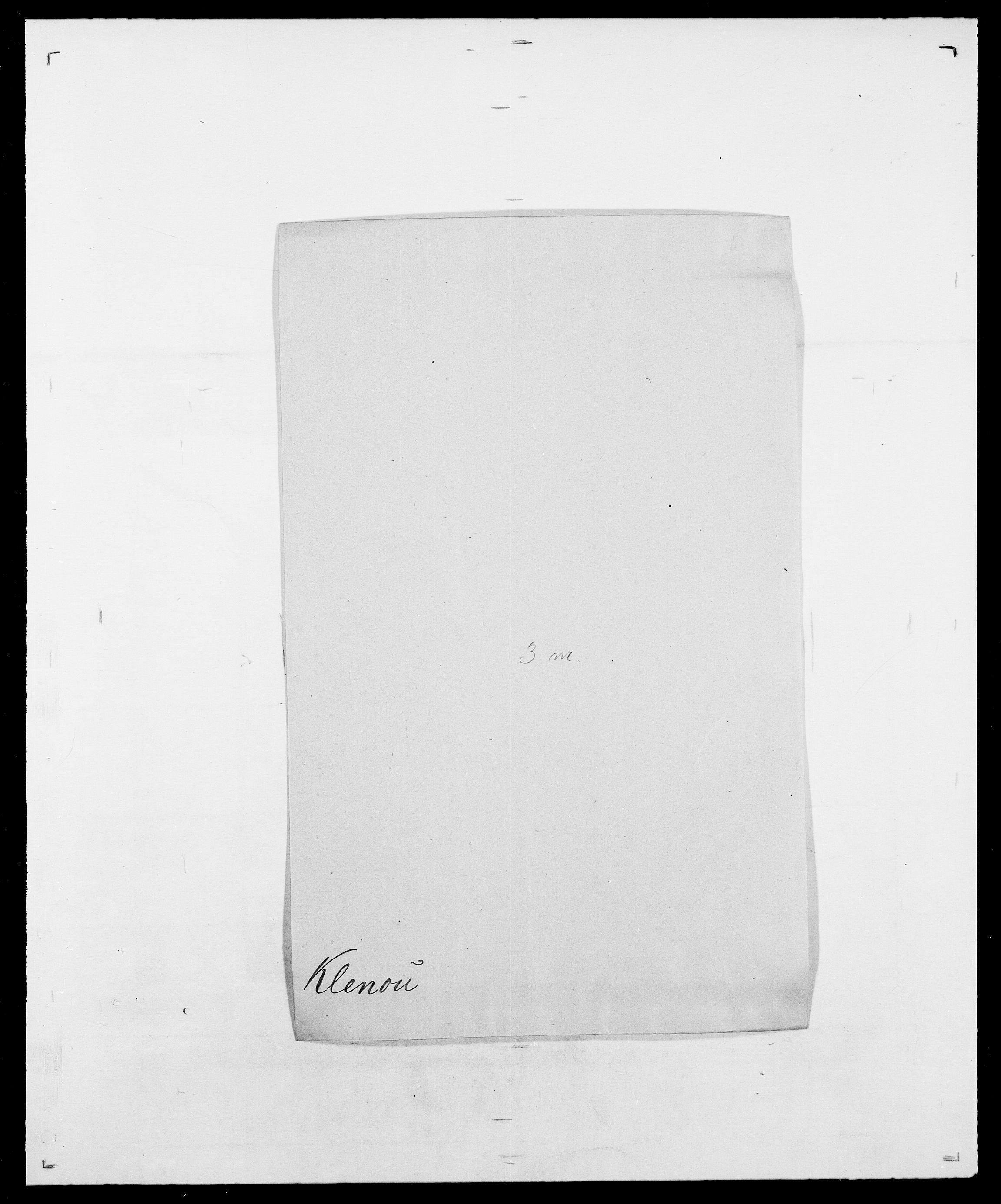 SAO, Delgobe, Charles Antoine - samling, D/Da/L0021: Klagenberg - Kristoft, s. 41