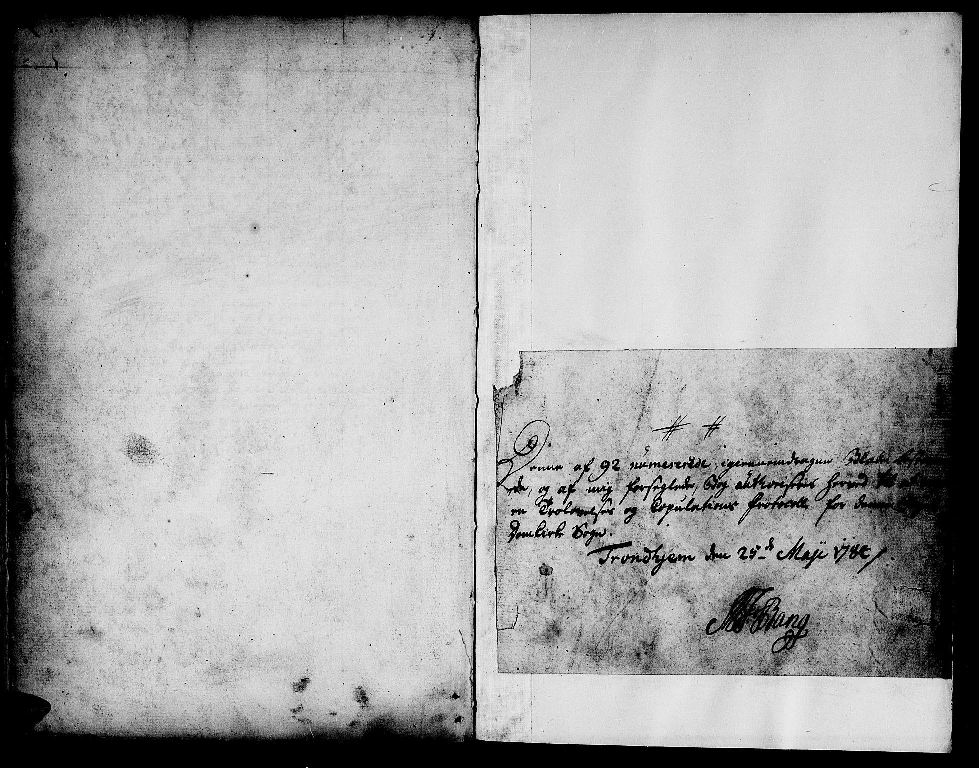 SAT, Ministerialprotokoller, klokkerbøker og fødselsregistre - Sør-Trøndelag, 601/L0041: Ministerialbok nr. 601A09, 1784-1801