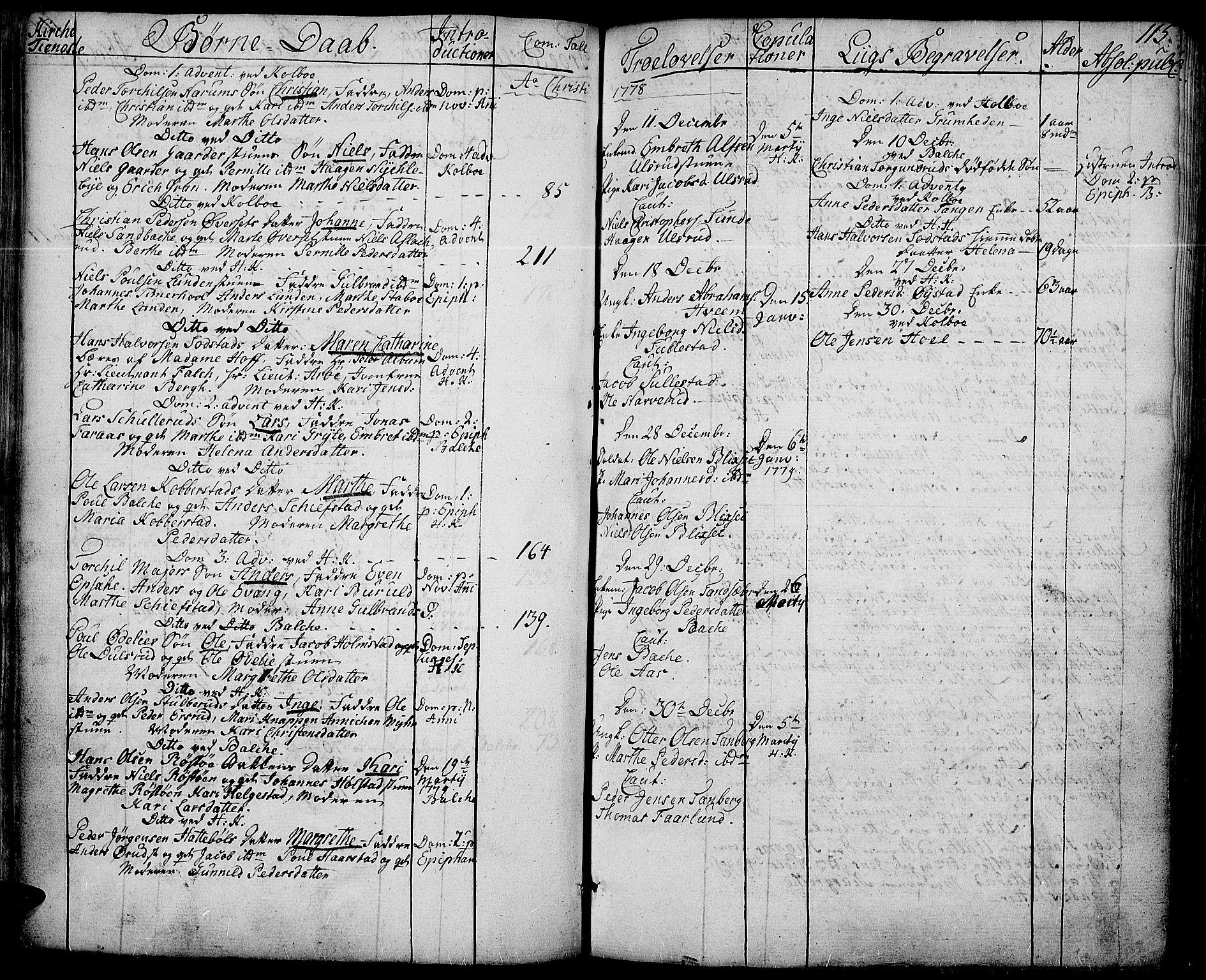 SAH, Toten prestekontor, Ministerialbok nr. 6, 1773-1793, s. 115
