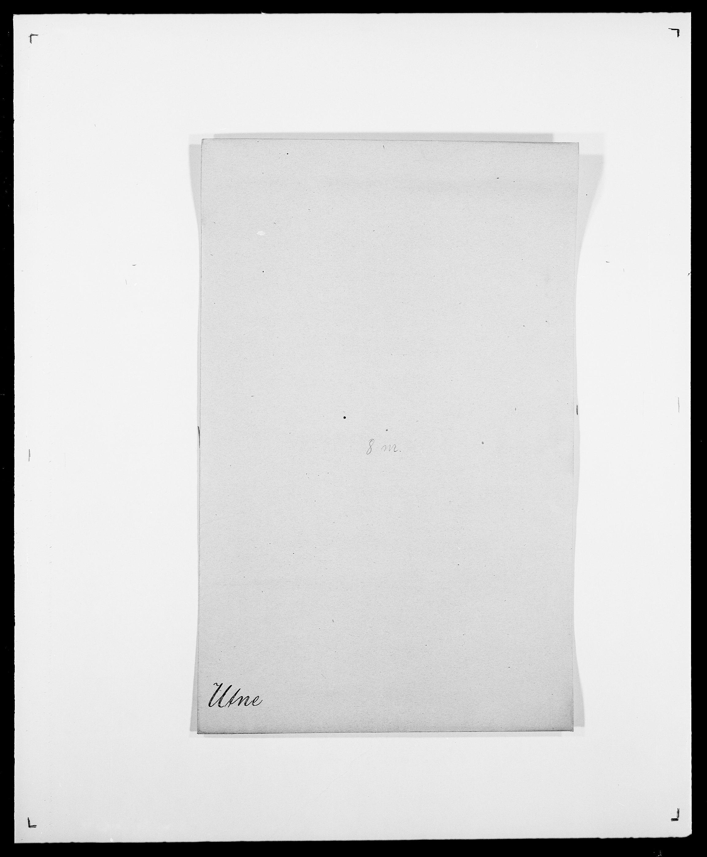 SAO, Delgobe, Charles Antoine - samling, D/Da/L0040: Usgaard - Velund, s. 25