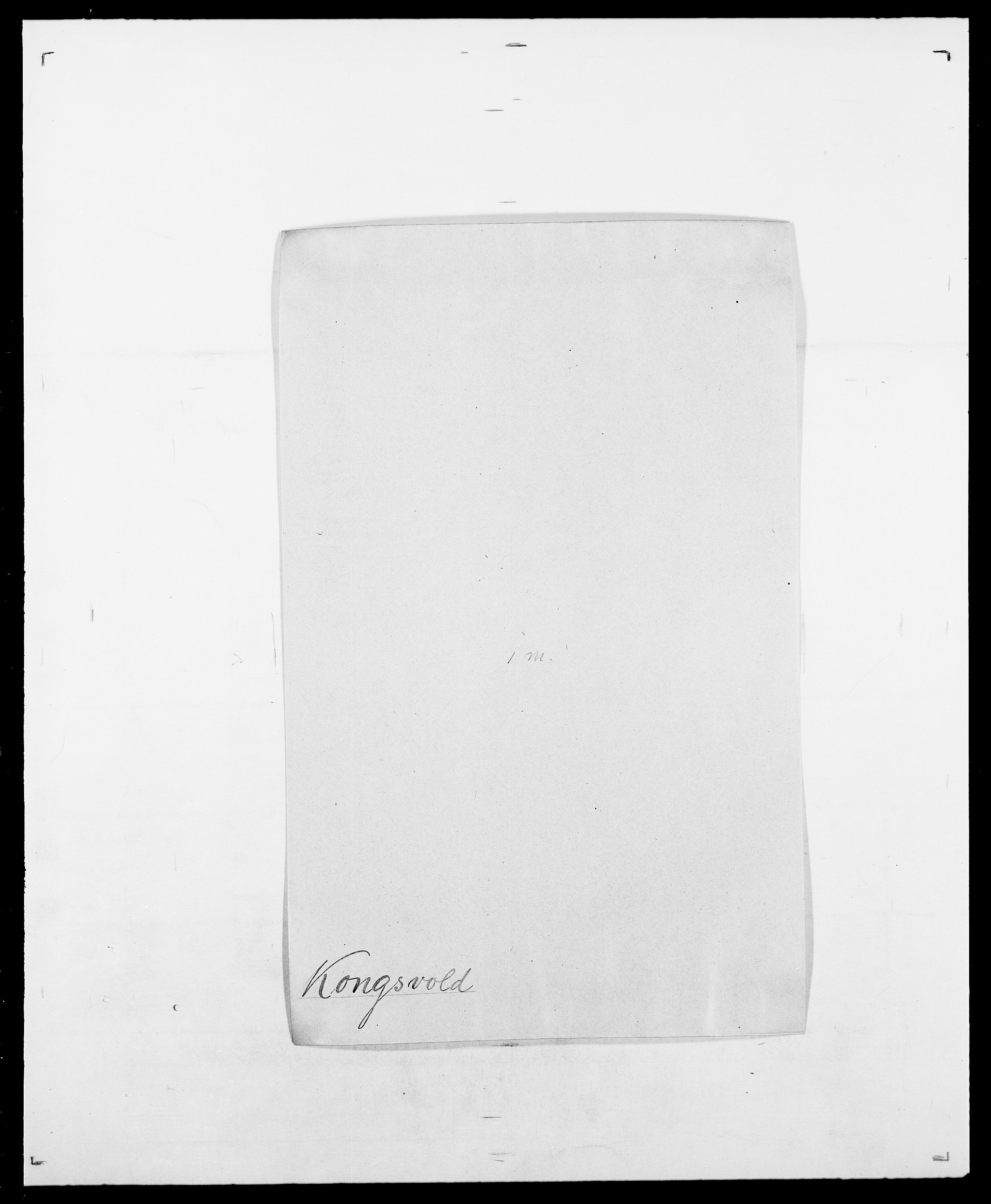 SAO, Delgobe, Charles Antoine - samling, D/Da/L0021: Klagenberg - Kristoft, s. 523