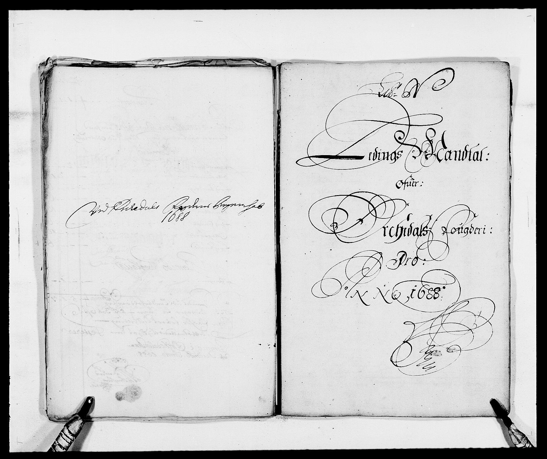 RA, Rentekammeret inntil 1814, Reviderte regnskaper, Fogderegnskap, R58/L3935: Fogderegnskap Orkdal, 1687-1688, s. 335