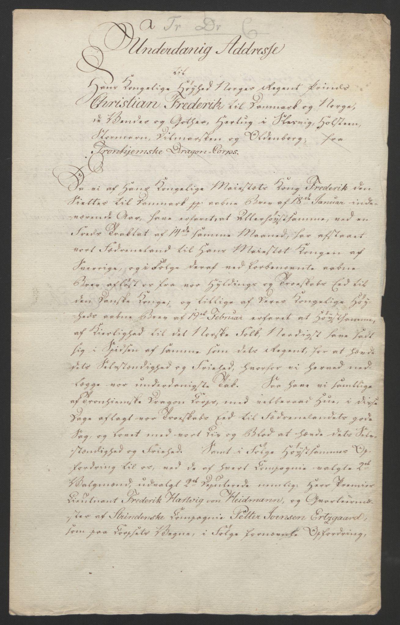 RA, Statsrådssekretariatet, D/Db/L0007: Fullmakter for Eidsvollsrepresentantene i 1814. , 1814, s. 116