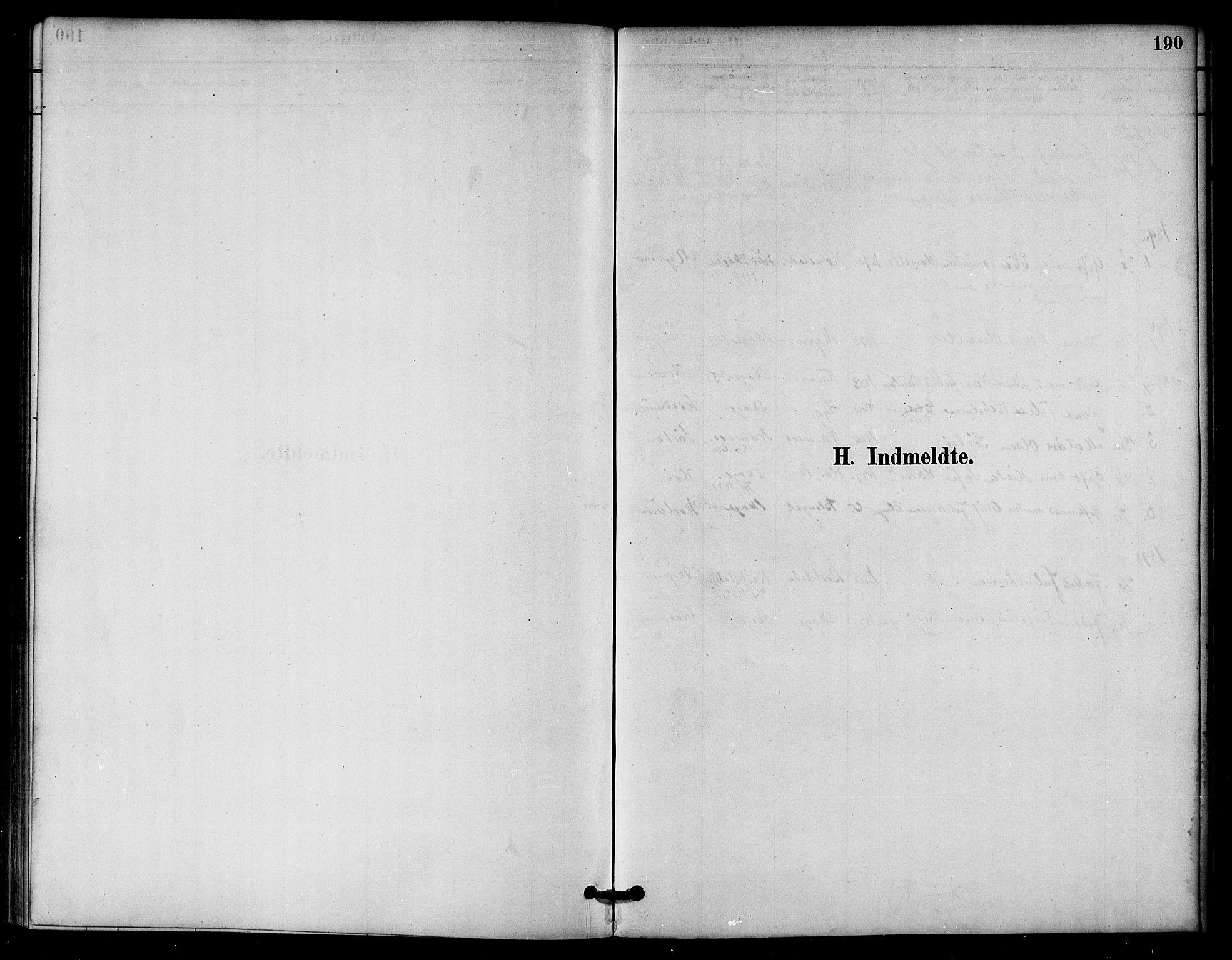 SAT, Ministerialprotokoller, klokkerbøker og fødselsregistre - Nord-Trøndelag, 766/L0563: Ministerialbok nr. 767A01, 1881-1899, s. 190