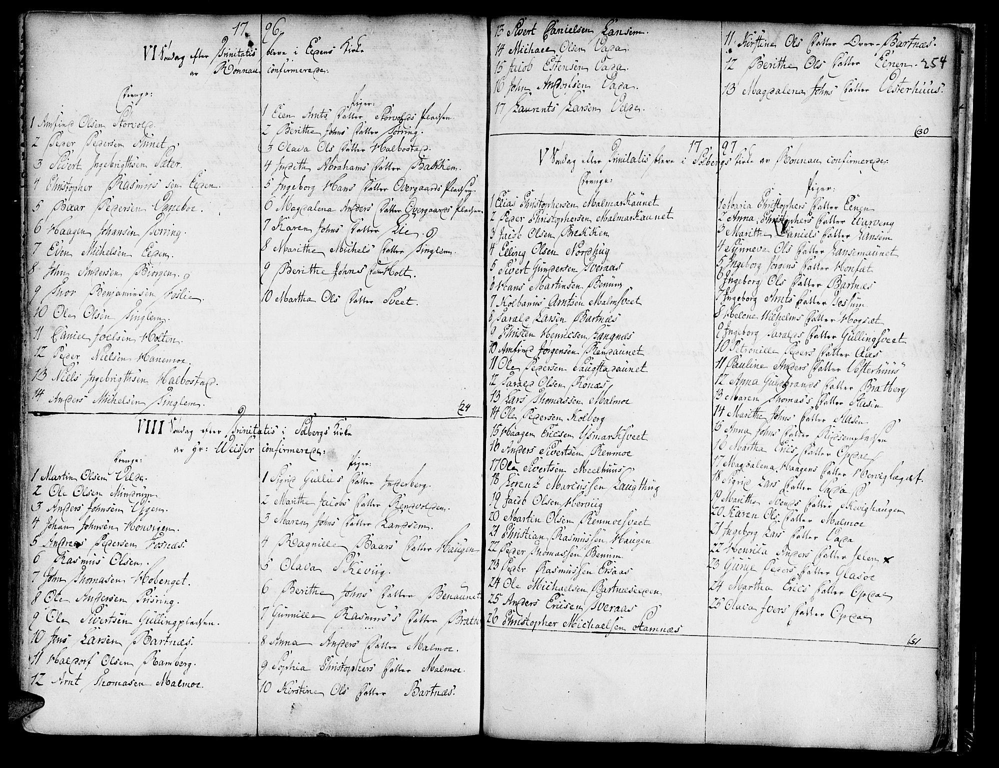 SAT, Ministerialprotokoller, klokkerbøker og fødselsregistre - Nord-Trøndelag, 741/L0385: Ministerialbok nr. 741A01, 1722-1815, s. 254