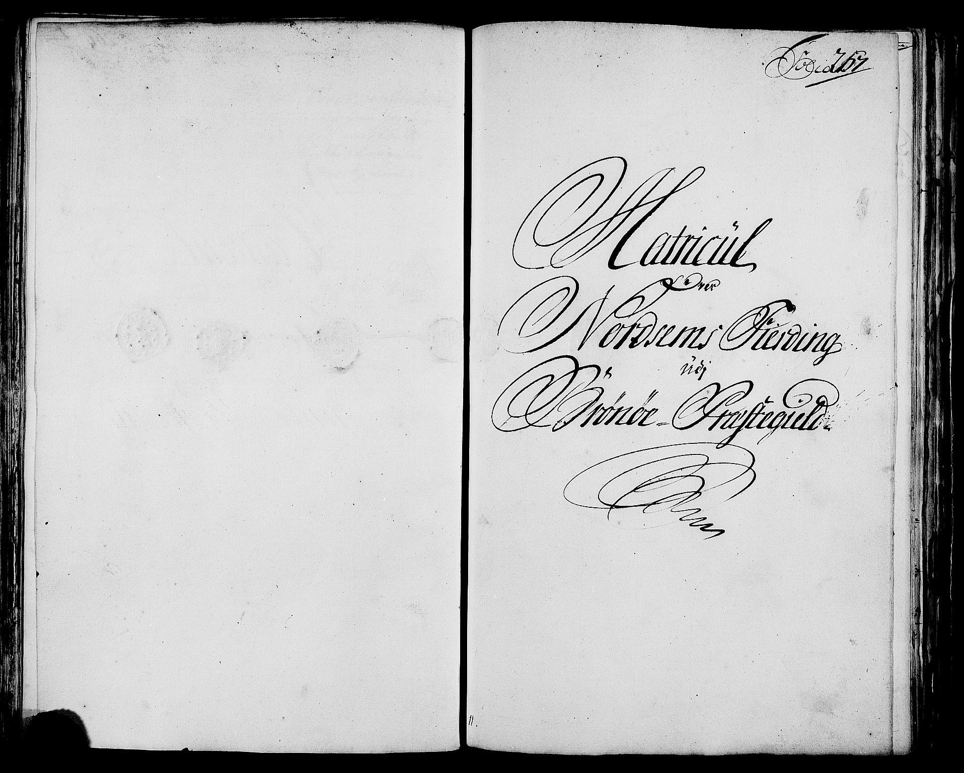 RA, Rentekammeret inntil 1814, Realistisk ordnet avdeling, N/Nb/Nbf/L0171: Helgeland matrikkelprotokoll, 1723, s. 266b-267a