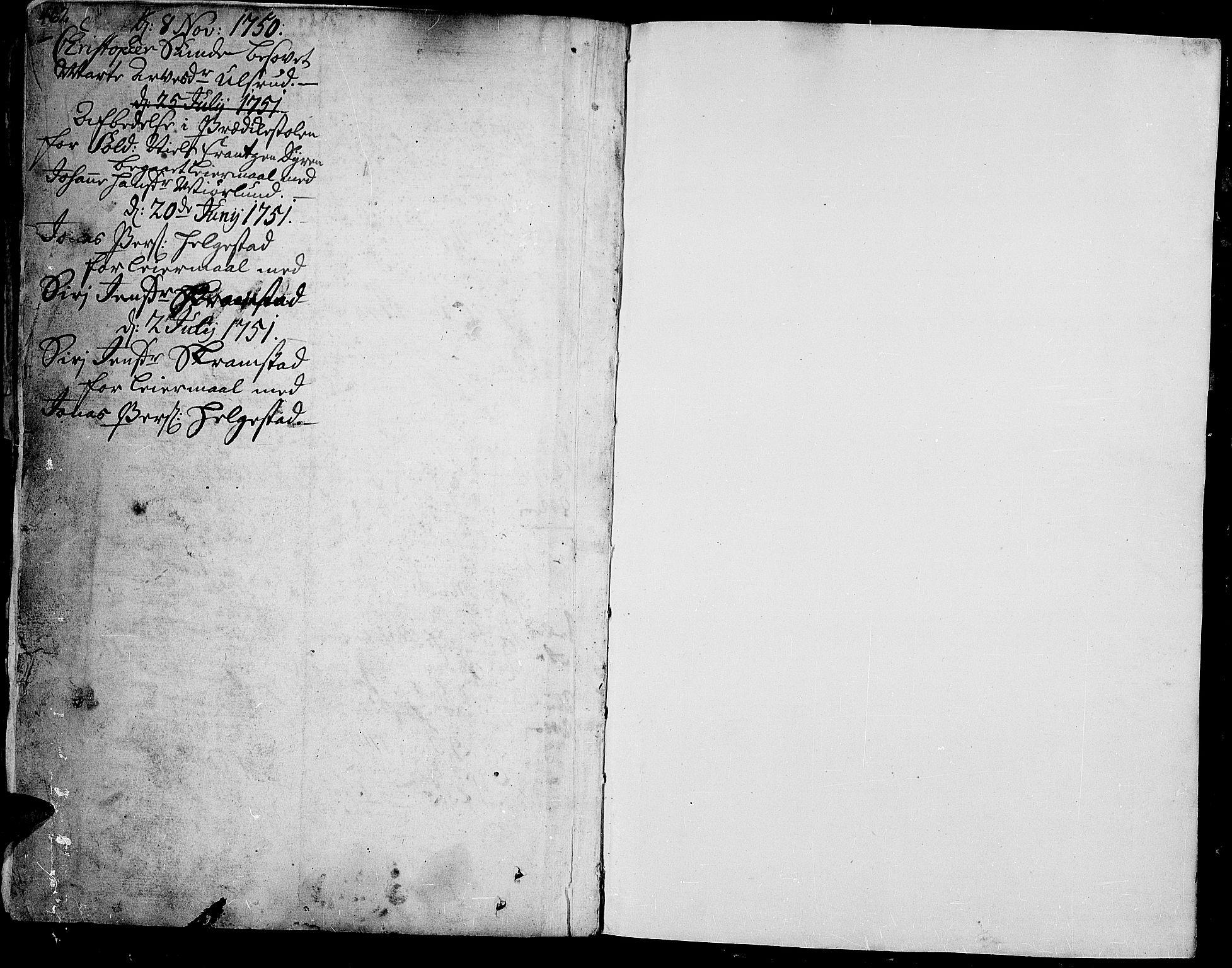 SAH, Toten prestekontor, Ministerialbok nr. 3, 1734-1751, s. 462-463
