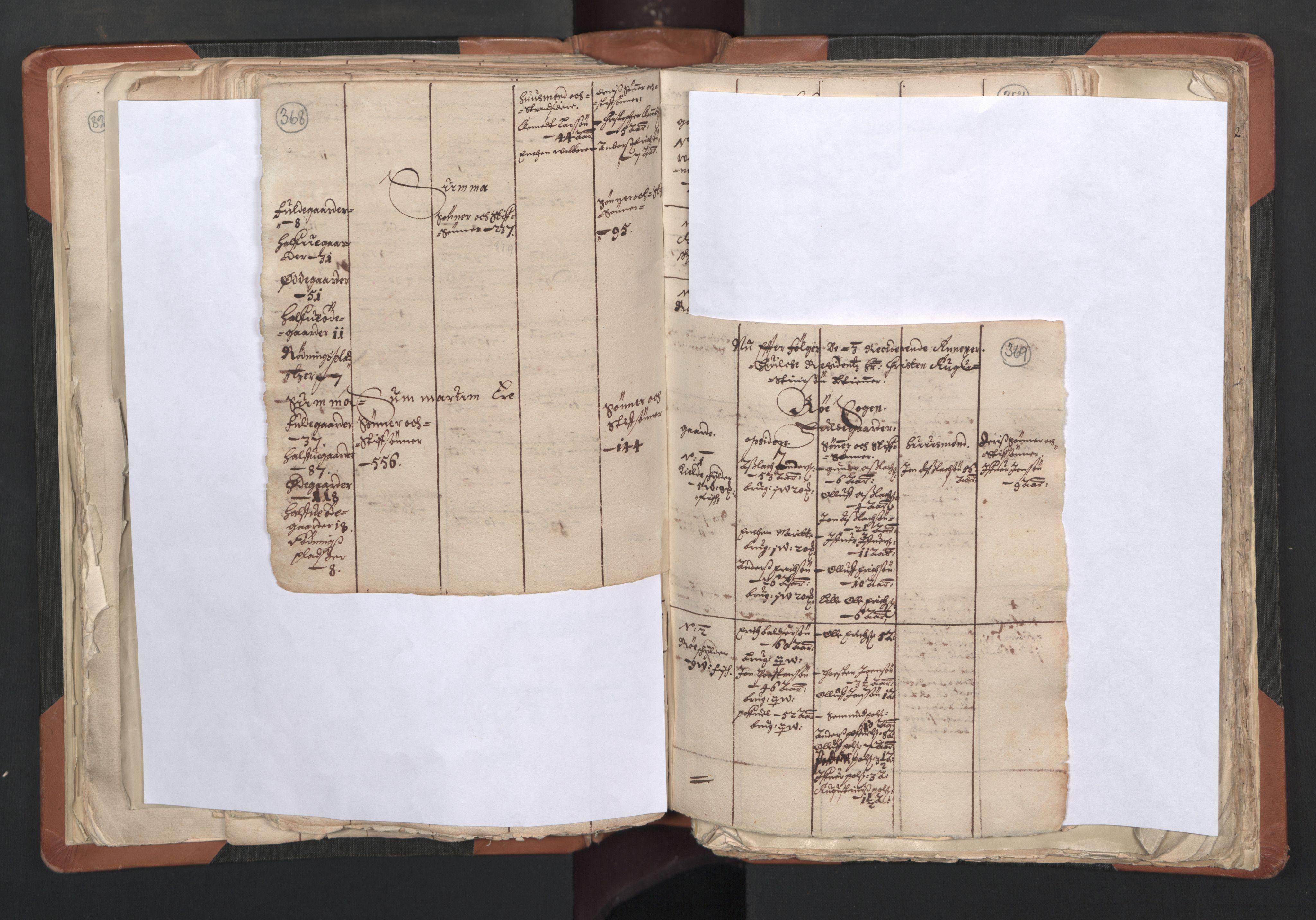 RA, Sogneprestenes manntall 1664-1666, nr. 27: Romsdal prosti, 1664-1666, s. 368-369