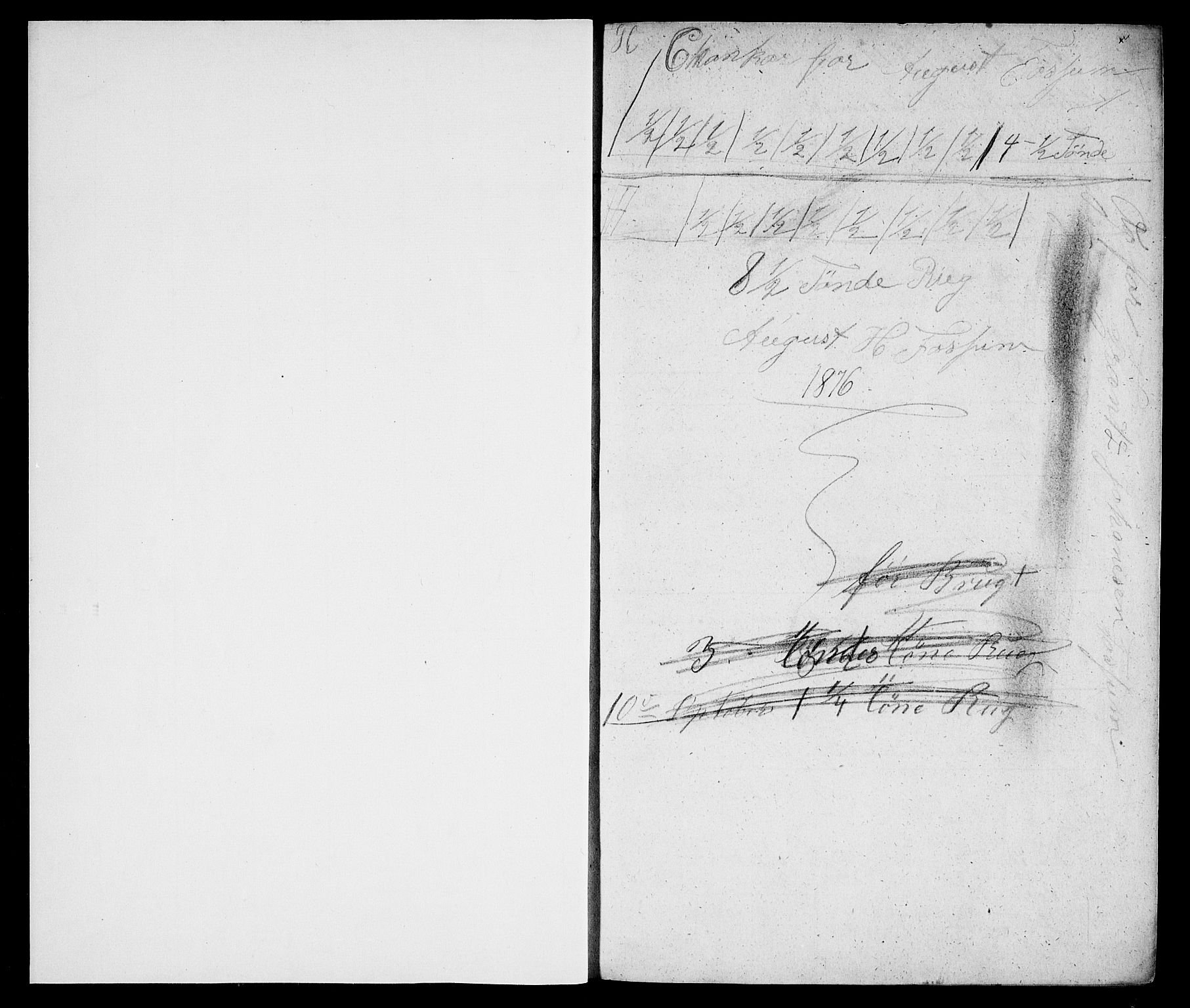 RA, Modums Blaafarveværk, G/Gd/Gda/L0172, 1841-1847, s. 2