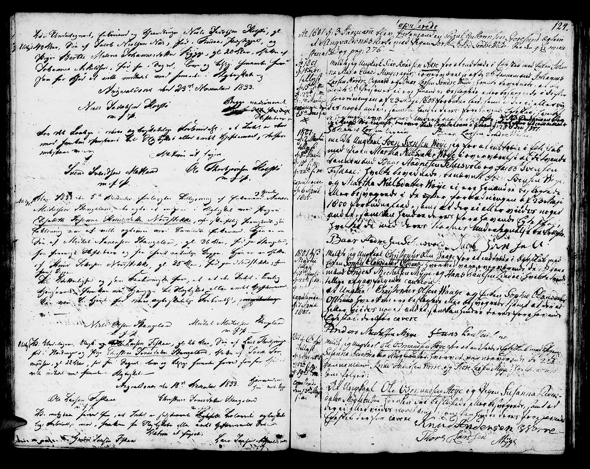 SAST, Avaldsnes sokneprestkontor, H/Ha/Haa/L0003: Ministerialbok nr. A 3, 1801-1817, s. 124