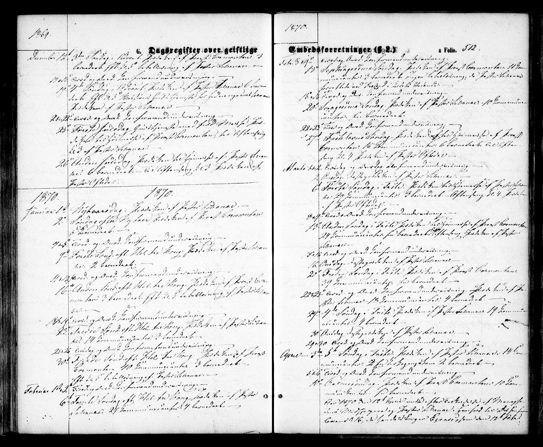 SAK, Arendal sokneprestkontor, Trefoldighet, F/Fa/L0007: Ministerialbok nr. A 7, 1868-1878, s. 512