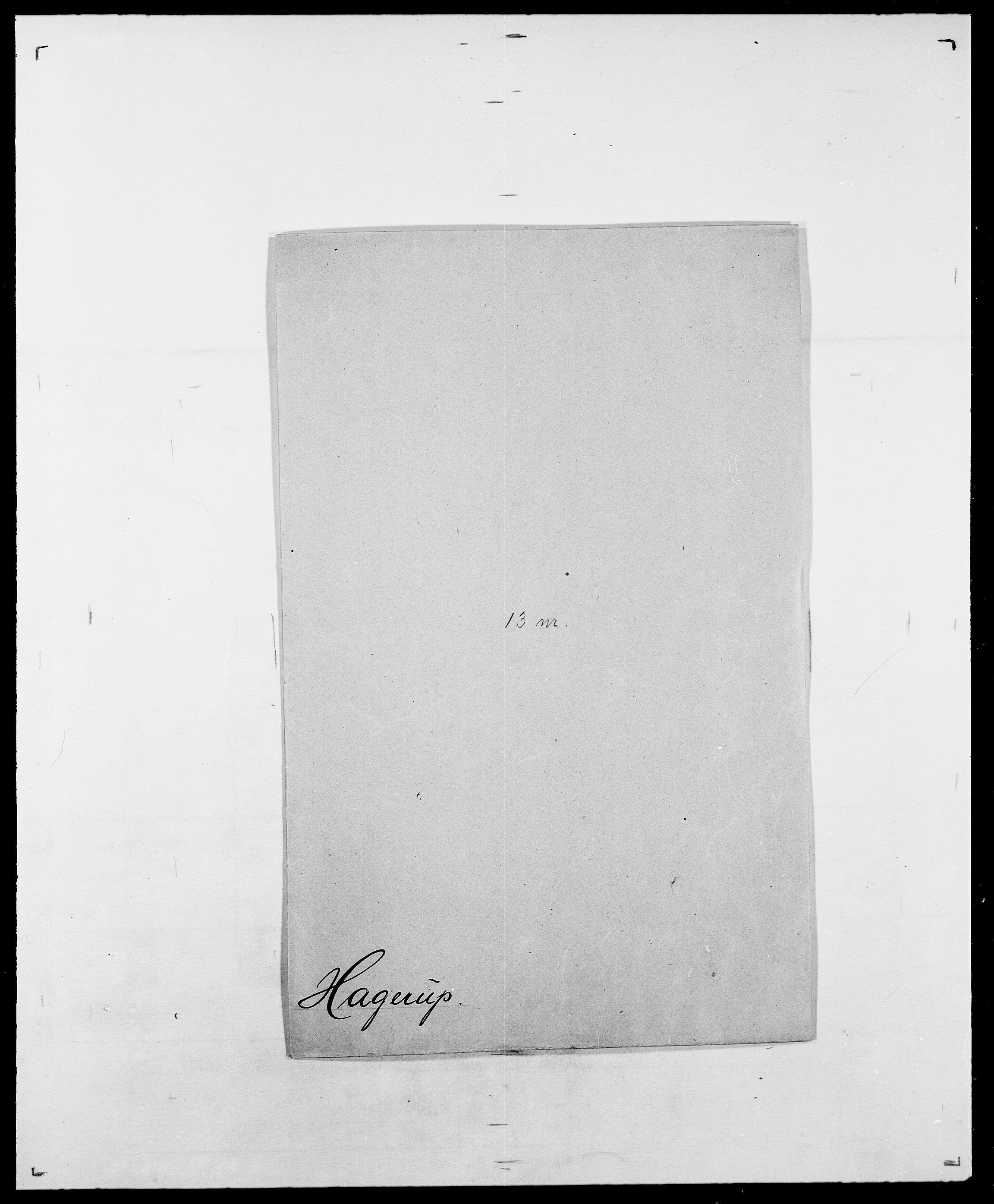 SAO, Delgobe, Charles Antoine - samling, D/Da/L0015: Grodtshilling - Halvorsæth, s. 715