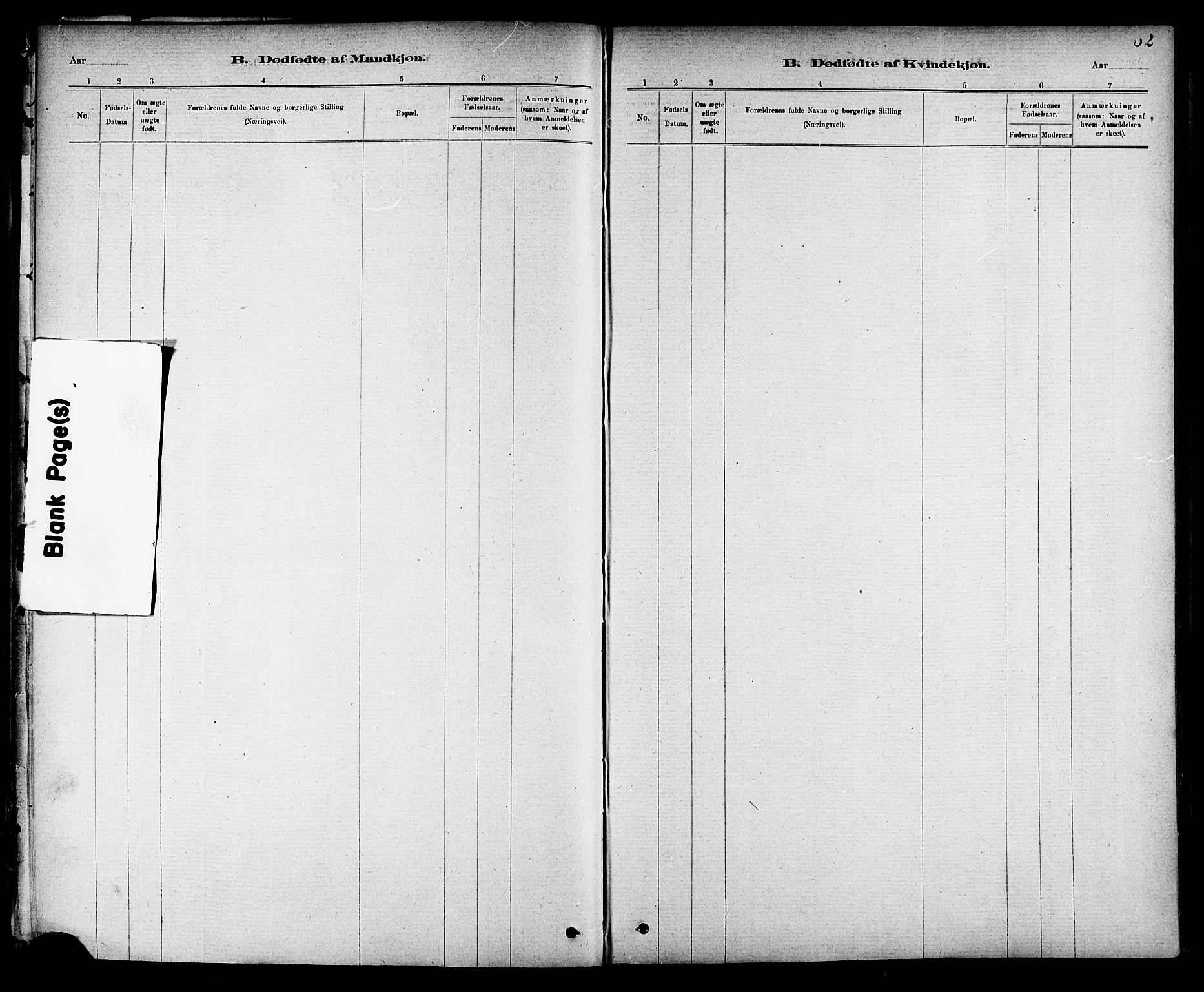 SAT, Ministerialprotokoller, klokkerbøker og fødselsregistre - Nord-Trøndelag, 714/L0130: Ministerialbok nr. 714A01, 1878-1895, s. 52