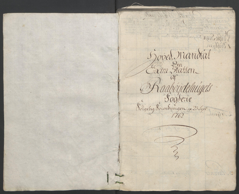 RA, Rentekammeret inntil 1814, Reviderte regnskaper, Fogderegnskap, R40/L2517: Ekstraskatten Råbyggelag, 1762-1763, s. 29