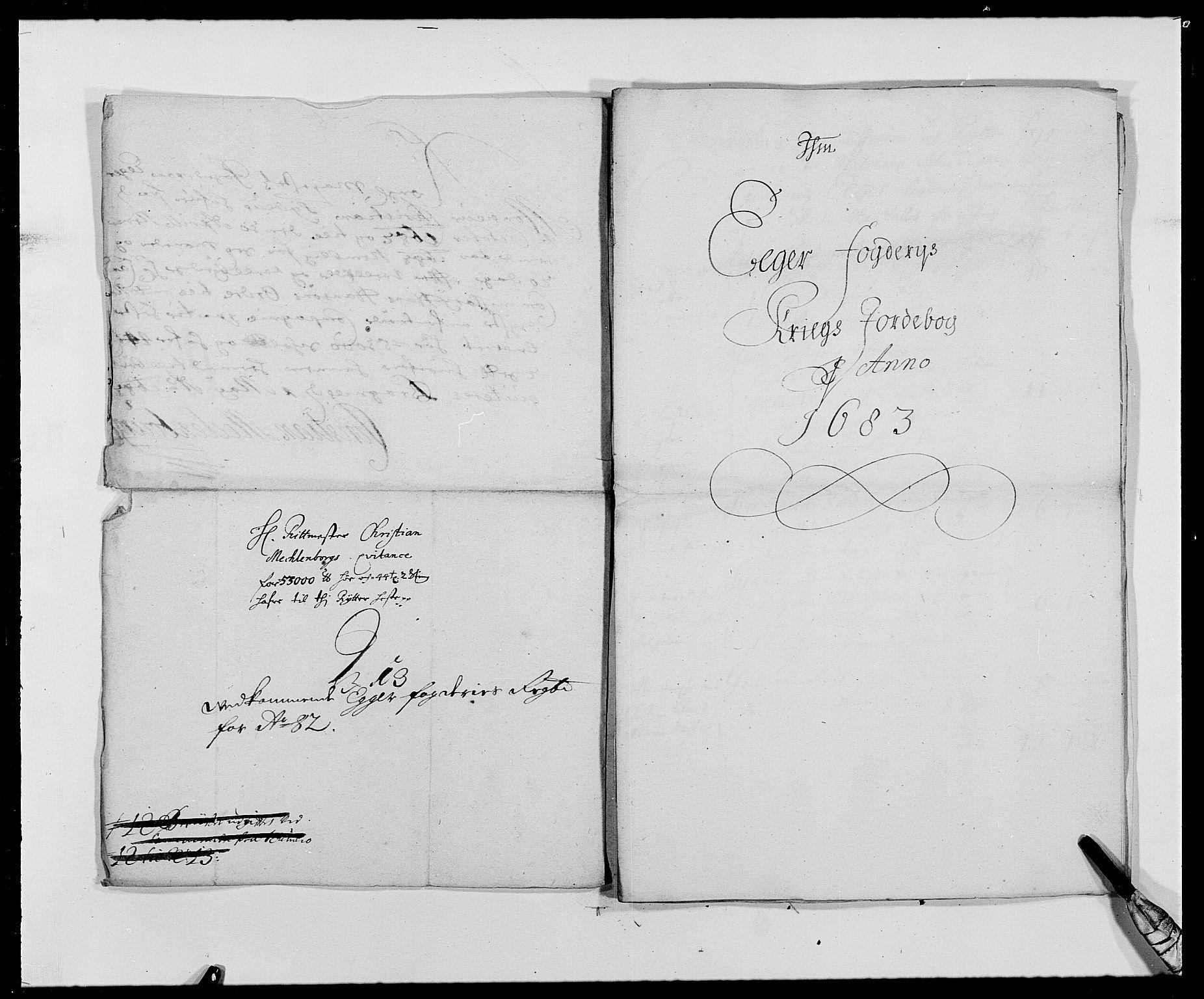 RA, Rentekammeret inntil 1814, Reviderte regnskaper, Fogderegnskap, R26/L1685: Fogderegnskap Eiker, 1679-1686, s. 265