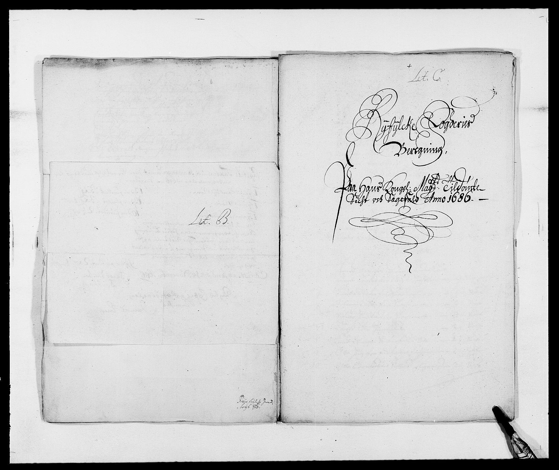 RA, Rentekammeret inntil 1814, Reviderte regnskaper, Fogderegnskap, R47/L2855: Fogderegnskap Ryfylke, 1685-1688, s. 128
