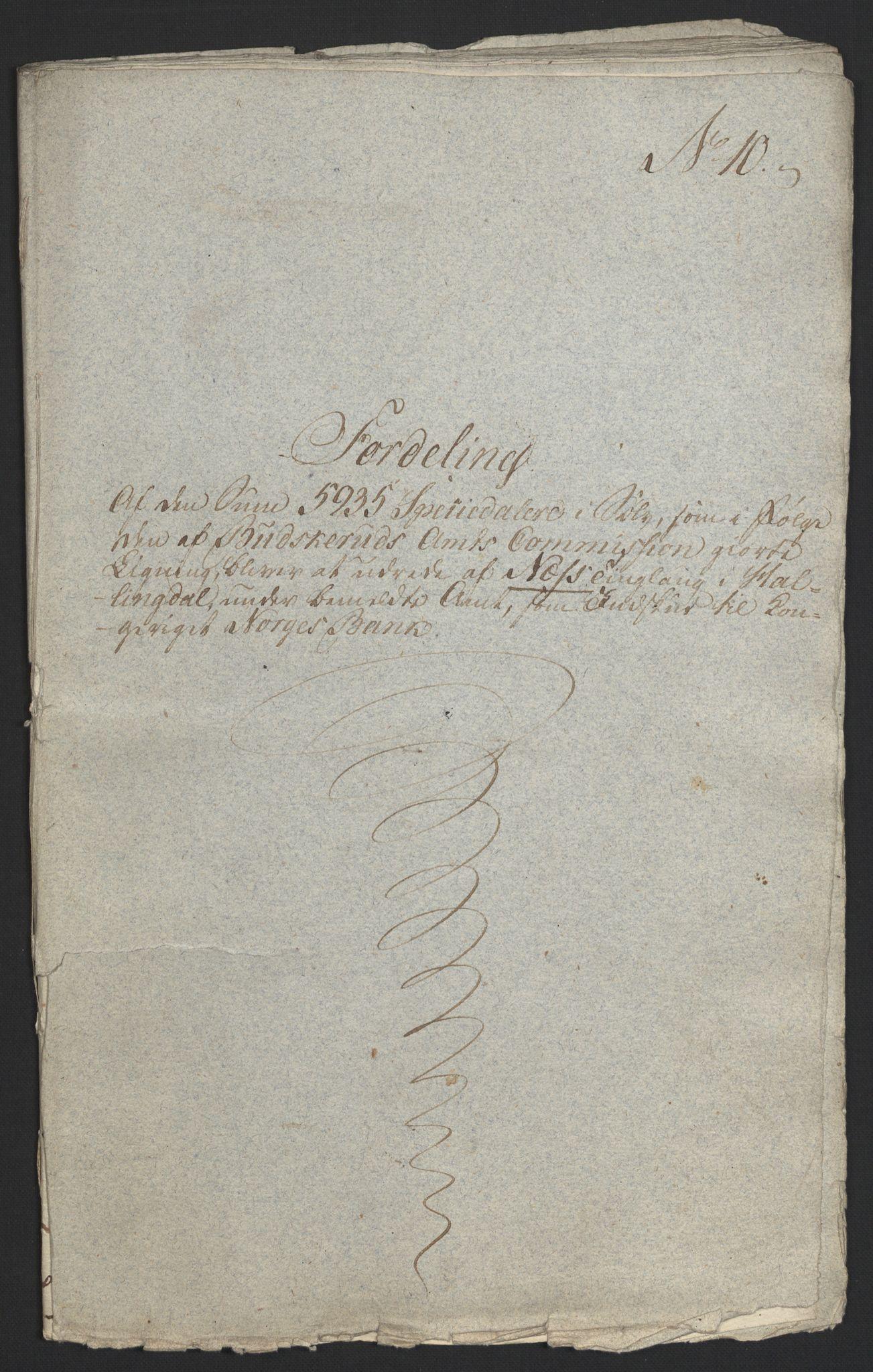 NOBA, Norges Bank/Sølvskatten 1816*, 1816-1821, s. 57
