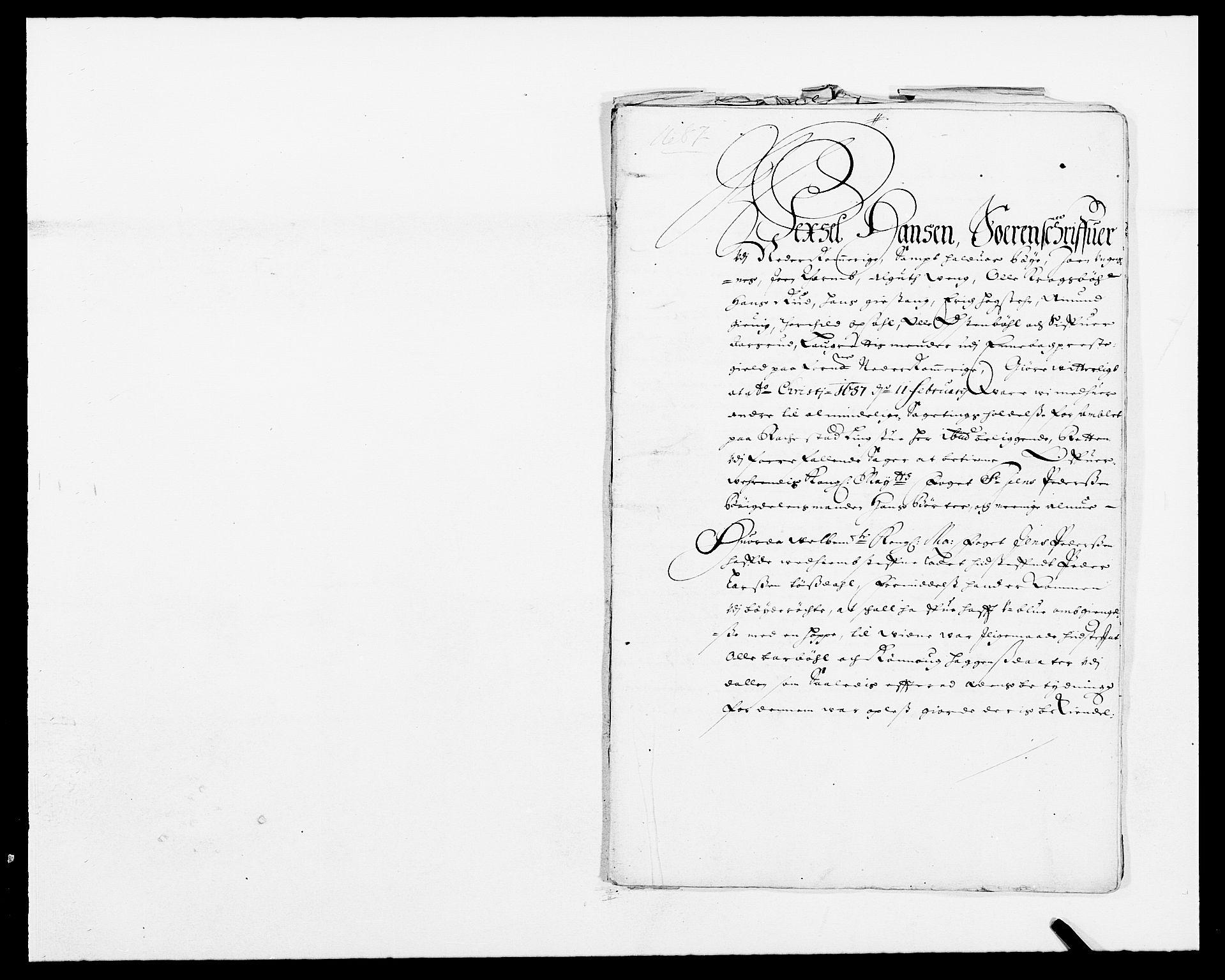 RA, Rentekammeret inntil 1814, Reviderte regnskaper, Fogderegnskap, R11/L0572: Fogderegnskap Nedre Romerike, 1686-1687, s. 446