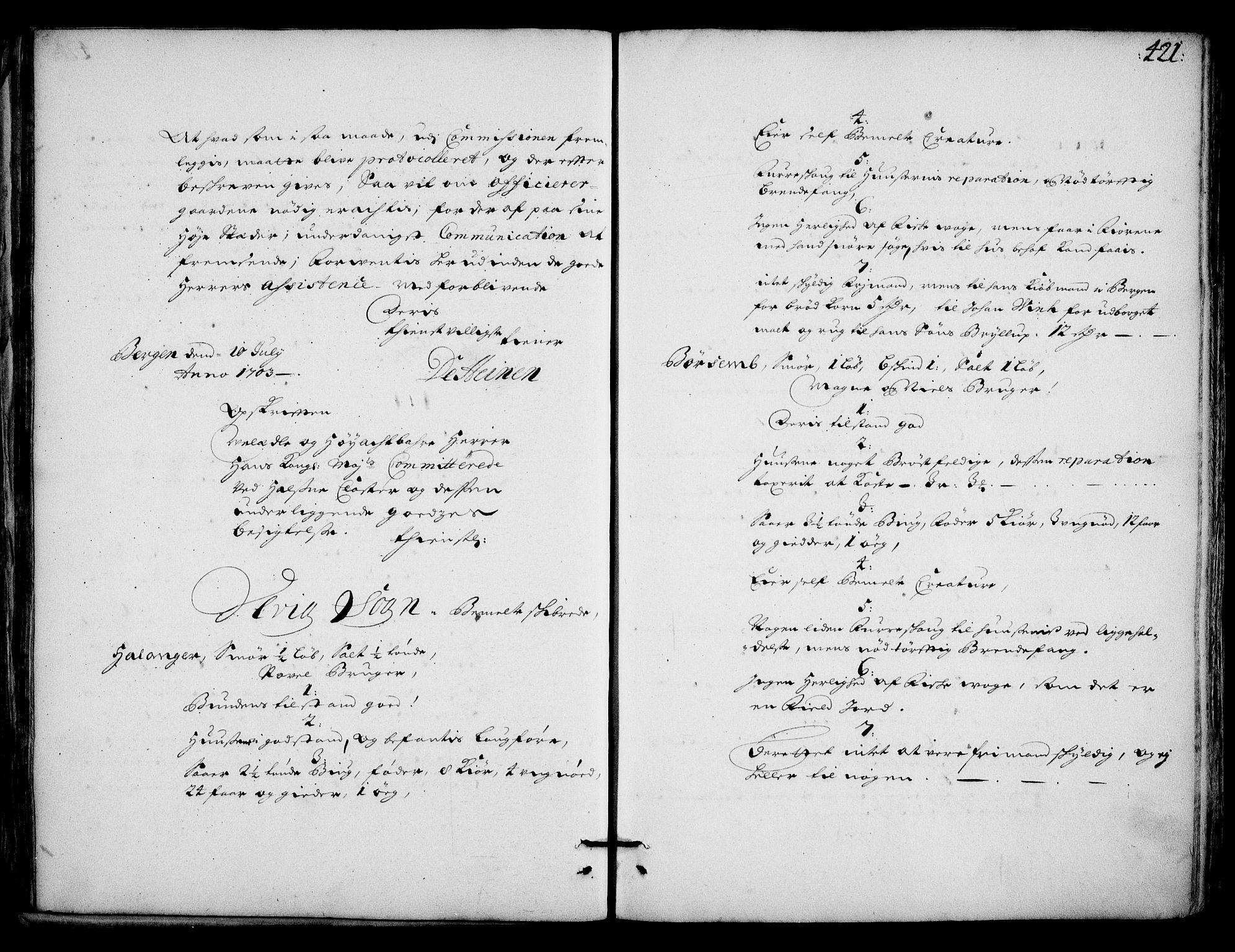 RA, Rentekammeret inntil 1814, Realistisk ordnet avdeling, On/L0002: [Jj 3]: Besiktigelsesforretninger over Halsnøy klosters gods, 1659-1703, s. 420b-421a