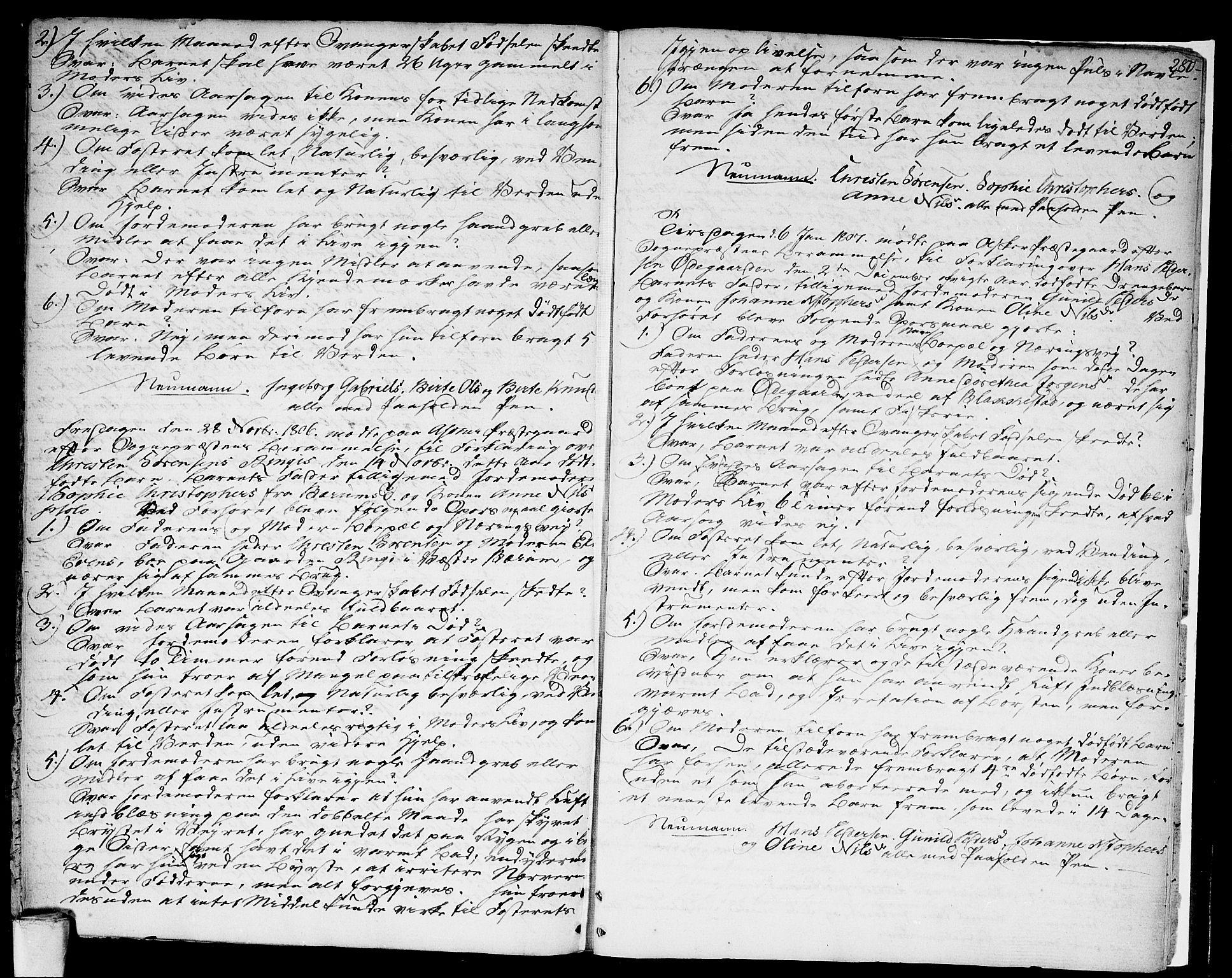 SAO, Asker prestekontor Kirkebøker, F/Fa/L0003: Ministerialbok nr. I 3, 1767-1807, s. 280