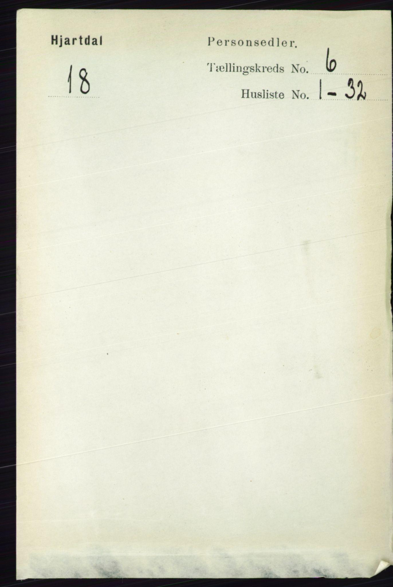 RA, Folketelling 1891 for 0827 Hjartdal herred, 1891, s. 2192