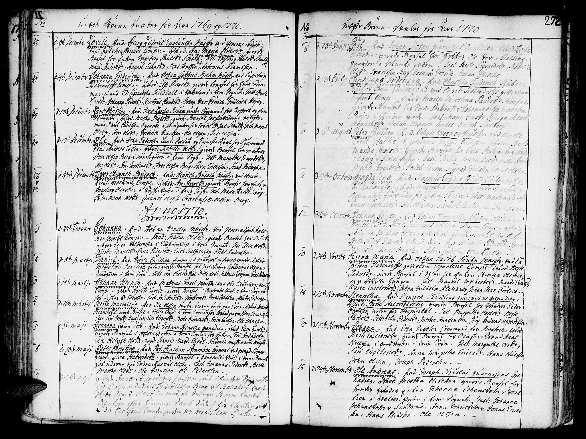 SAT, Ministerialprotokoller, klokkerbøker og fødselsregistre - Sør-Trøndelag, 602/L0103: Ministerialbok nr. 602A01, 1732-1774, s. 272