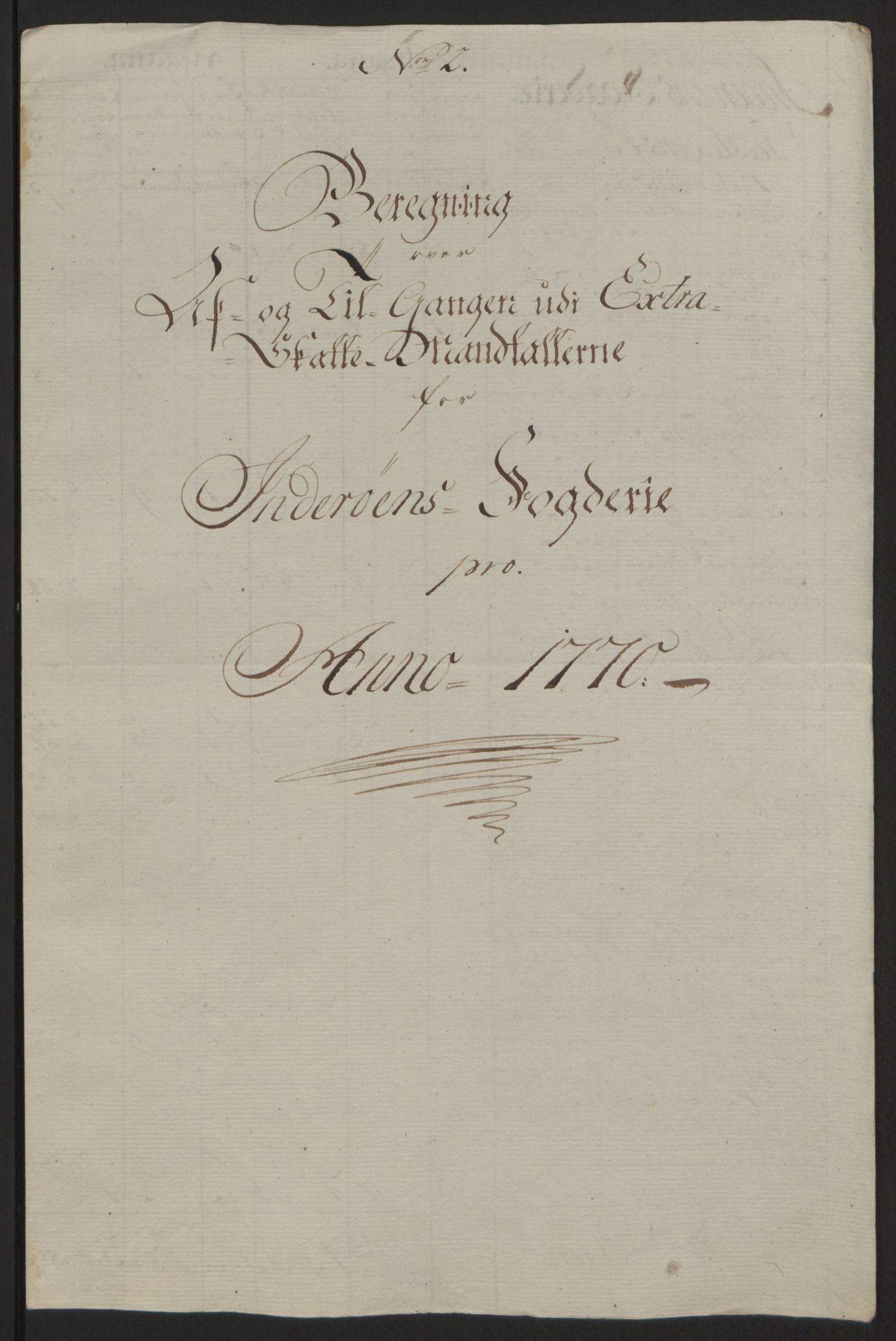 RA, Rentekammeret inntil 1814, Reviderte regnskaper, Fogderegnskap, R63/L4420: Ekstraskatten Inderøy, 1762-1772, s. 389