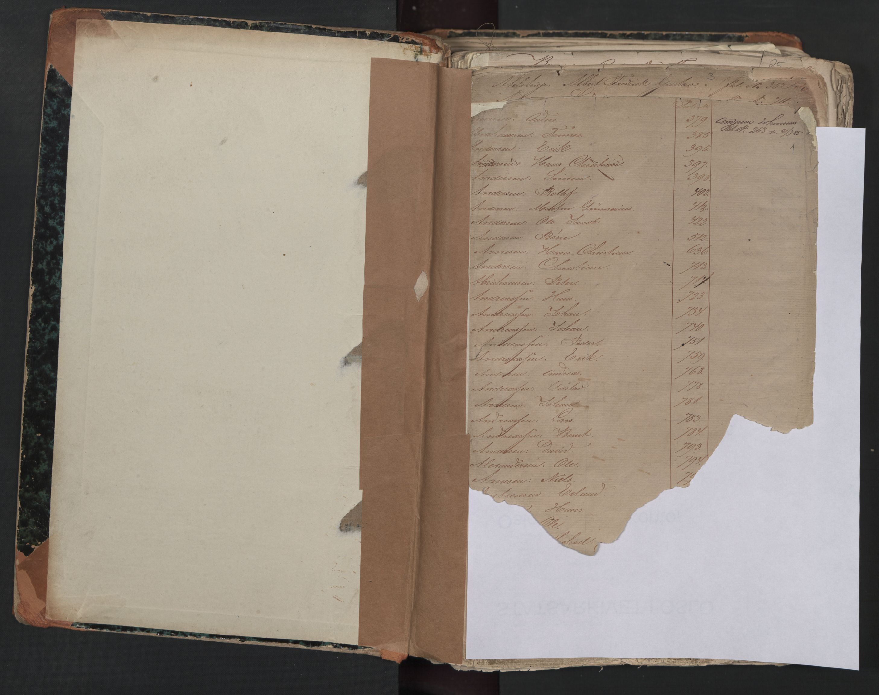 SAO, Oslo sjømannskontor, F/Fa/L0001: Register for Kristiania krets, 1866-1891, s. 1
