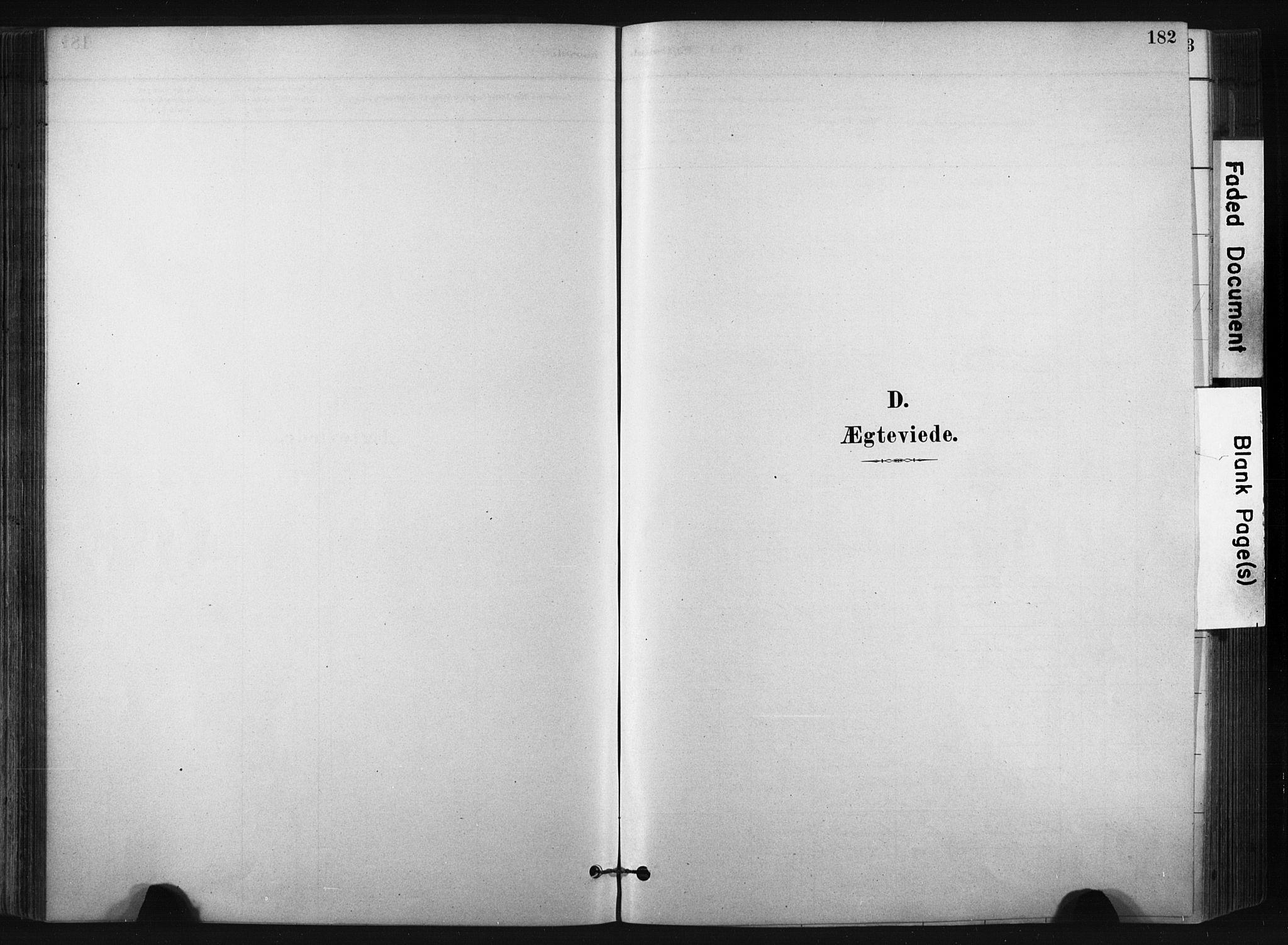 SAKO, Bø kirkebøker, F/Fa/L0010: Ministerialbok nr. 10, 1880-1892, s. 182
