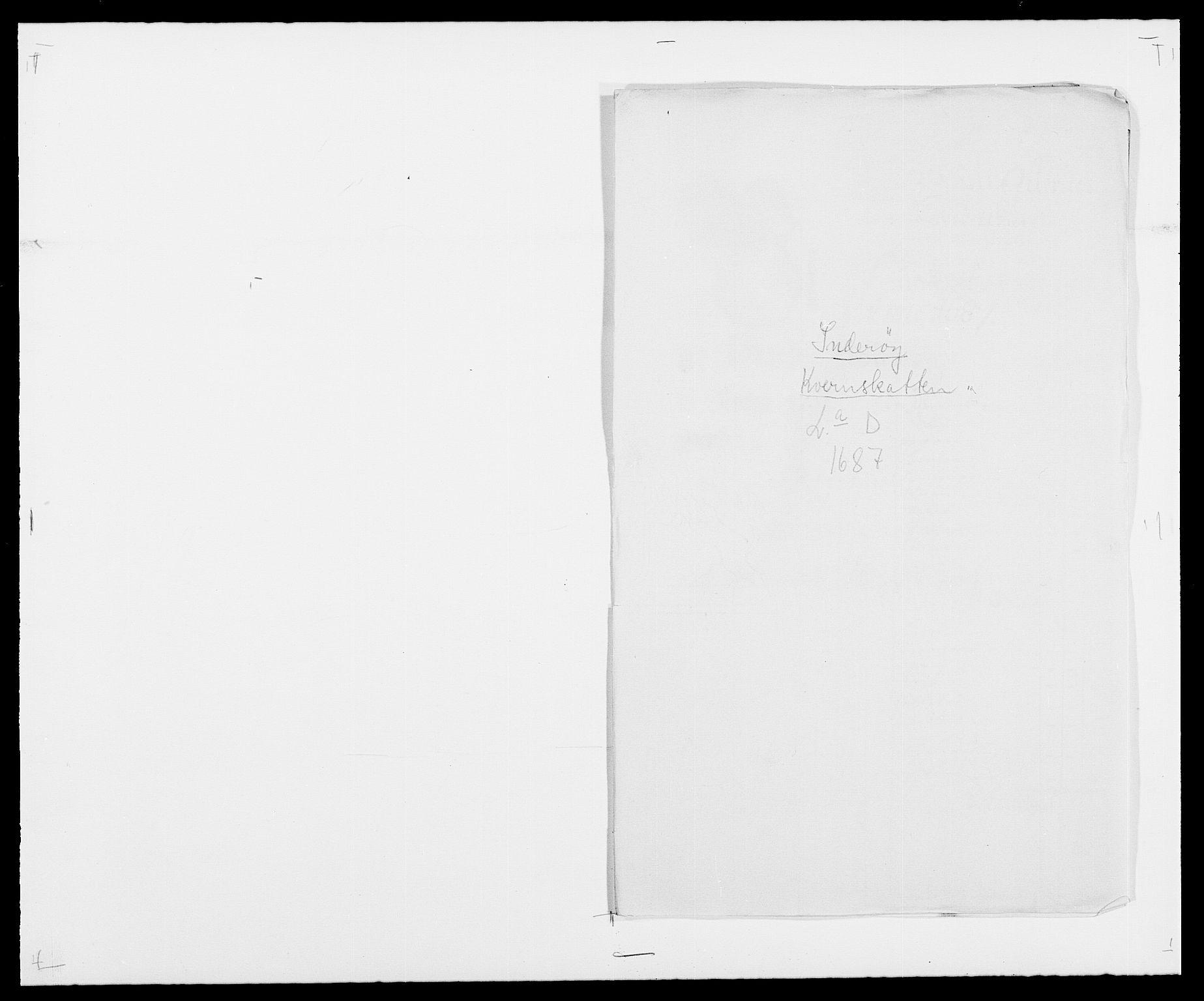 RA, Rentekammeret inntil 1814, Reviderte regnskaper, Fogderegnskap, R63/L4306: Fogderegnskap Inderøy, 1687-1689, s. 85