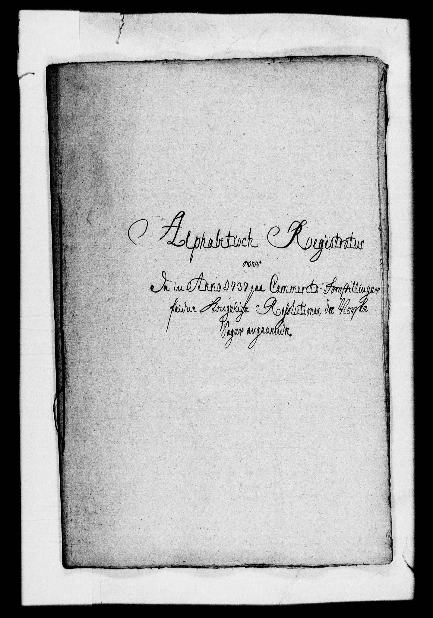 RA, Rentekammeret, Kammerkanselliet, G/Gf/Gfb/L0001: Register til norske relasjons- og resolusjonsprotokoller (merket RK 52.96), 1720-1749, s. 352