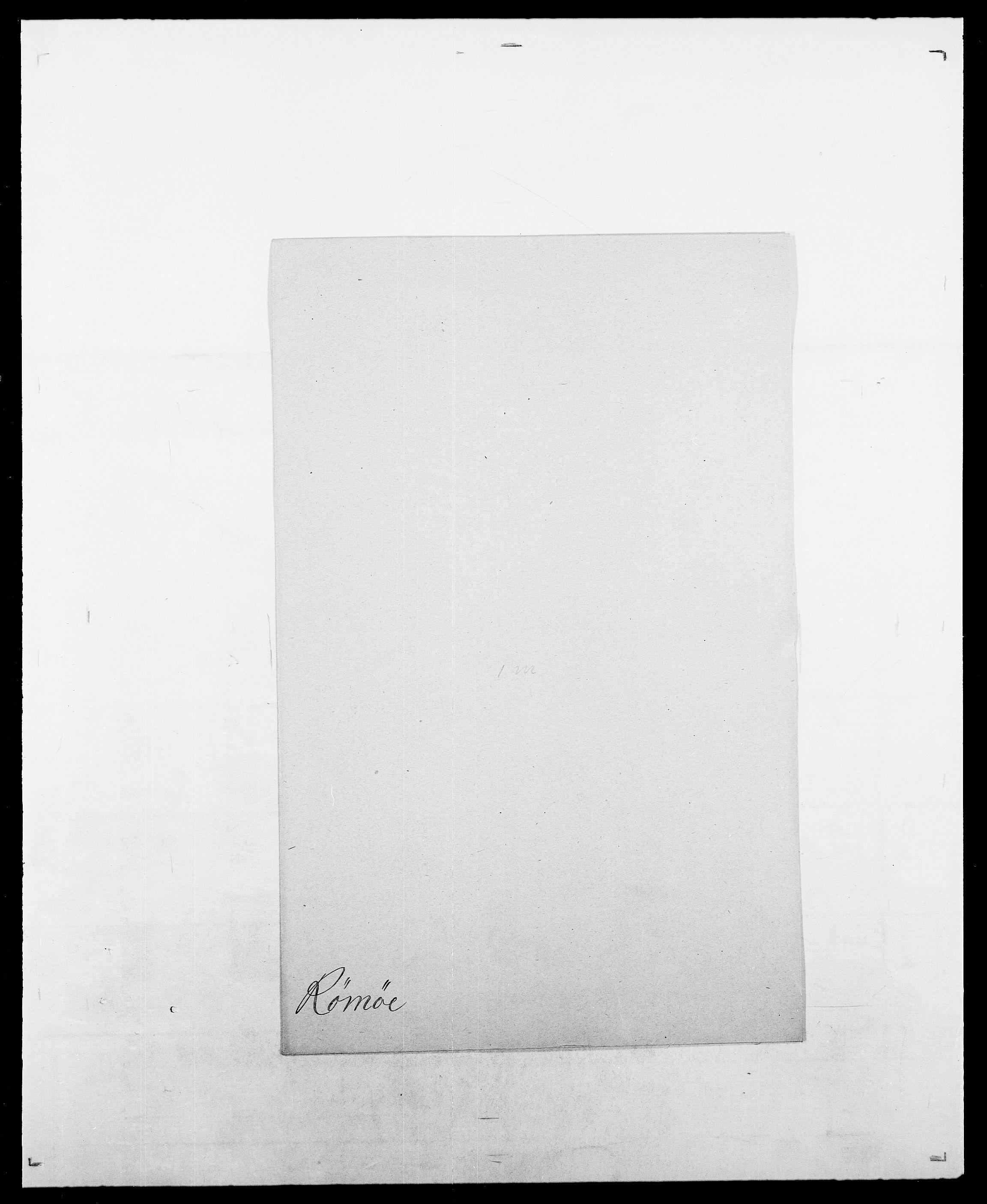 SAO, Delgobe, Charles Antoine - samling, D/Da/L0033: Roald - Røyem, s. 733