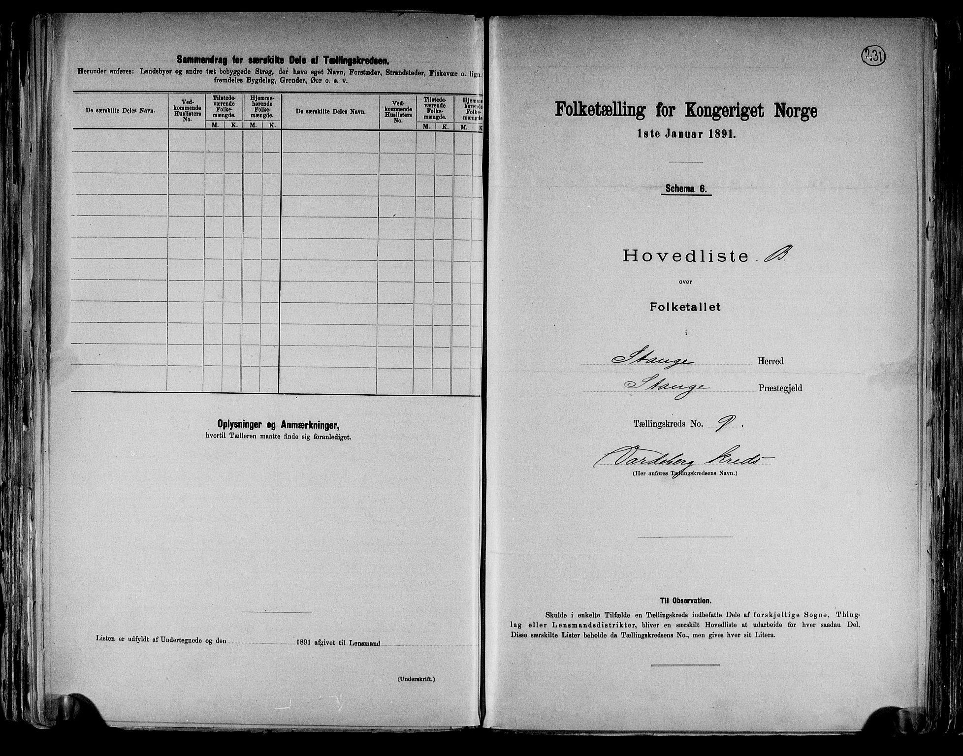 RA, Folketelling 1891 for 0417 Stange herred, 1891, s. 32