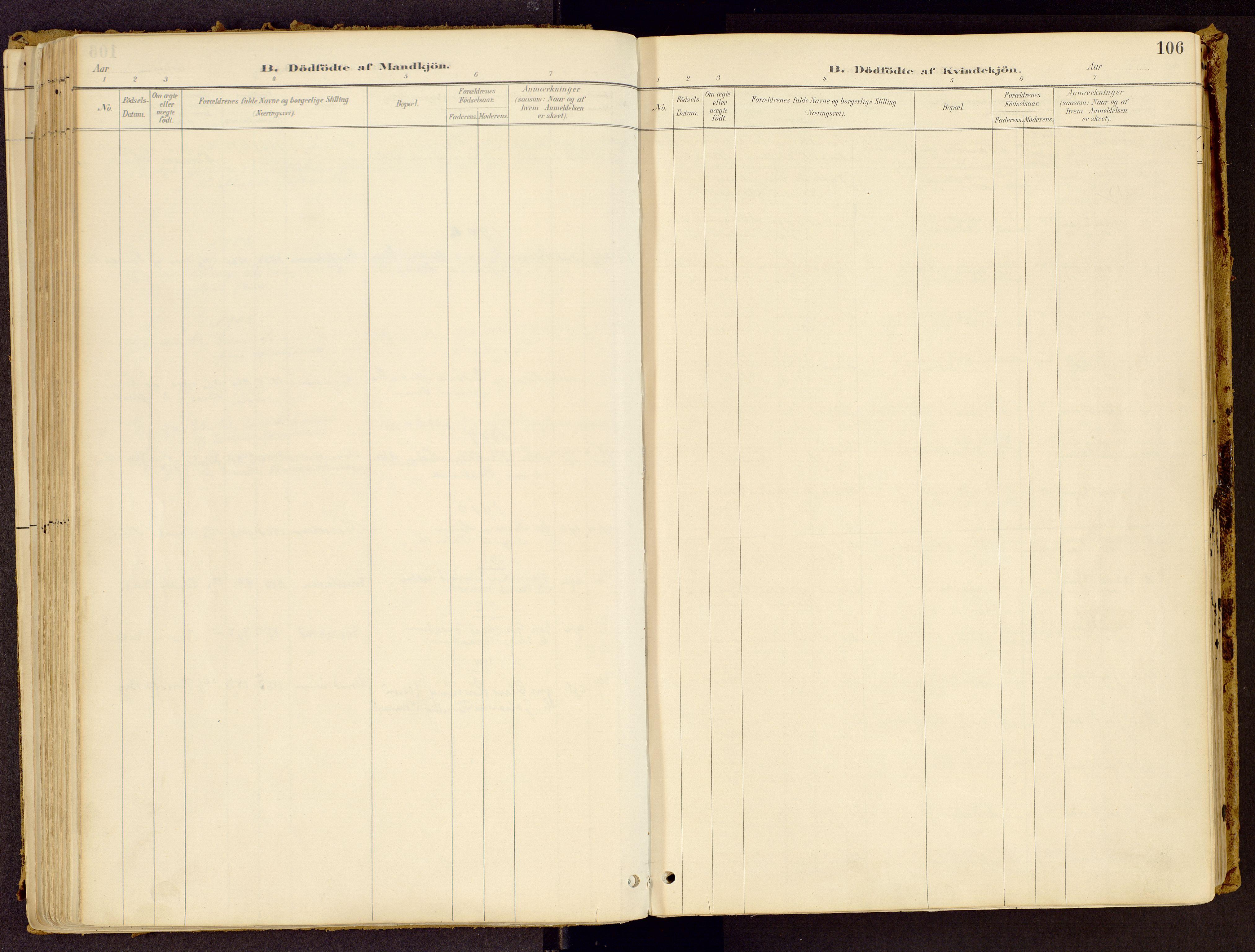 SAH, Vestre Gausdal prestekontor, Ministerialbok nr. 1, 1887-1914, s. 106