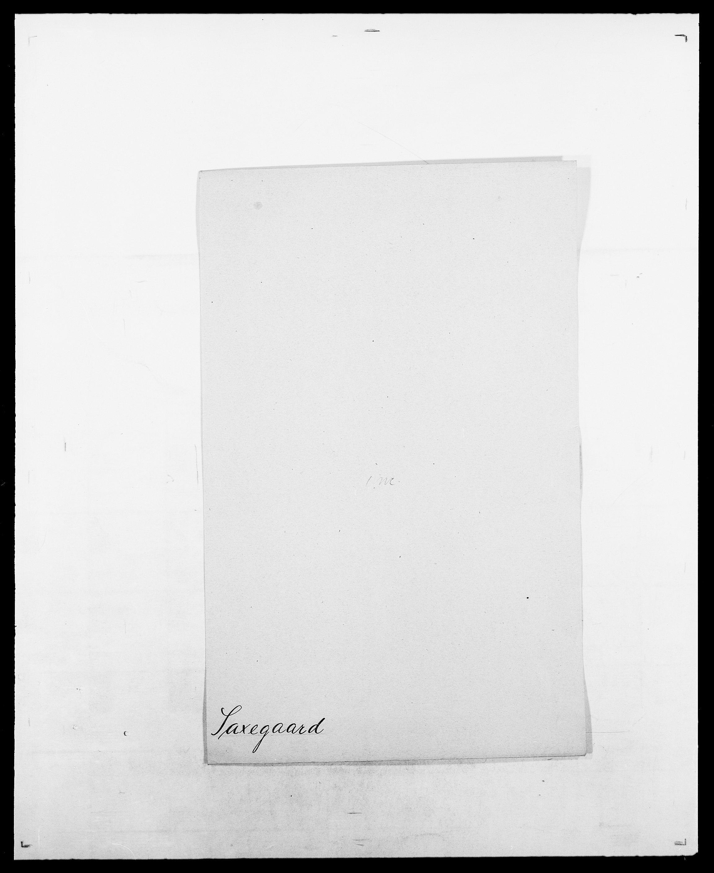 SAO, Delgobe, Charles Antoine - samling, D/Da/L0034: Saabye - Schmincke, s. 234