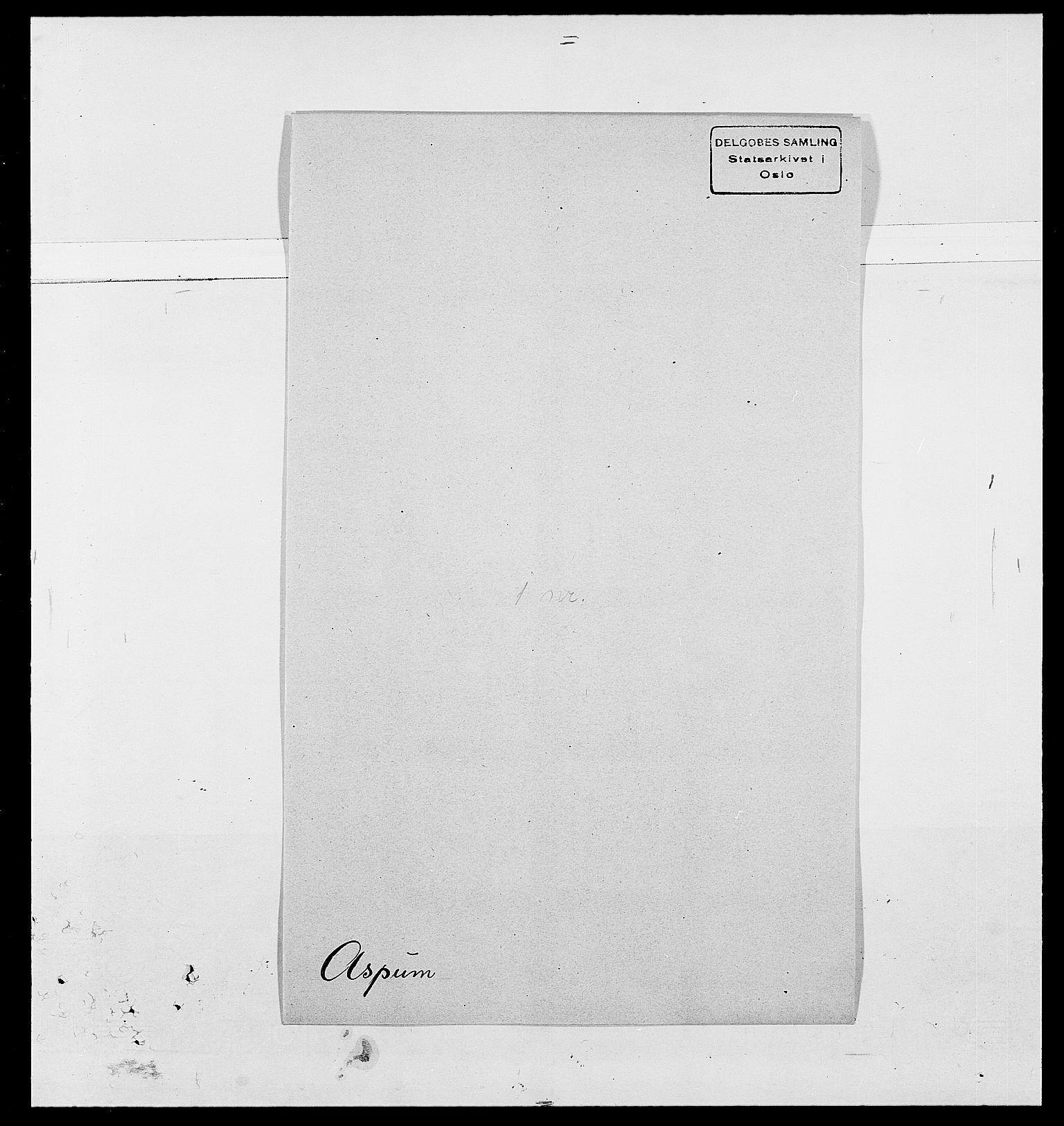 SAO, Delgobe, Charles Antoine - samling, D/Da/L0002: Anker, Ancher - Bauner, s. 459