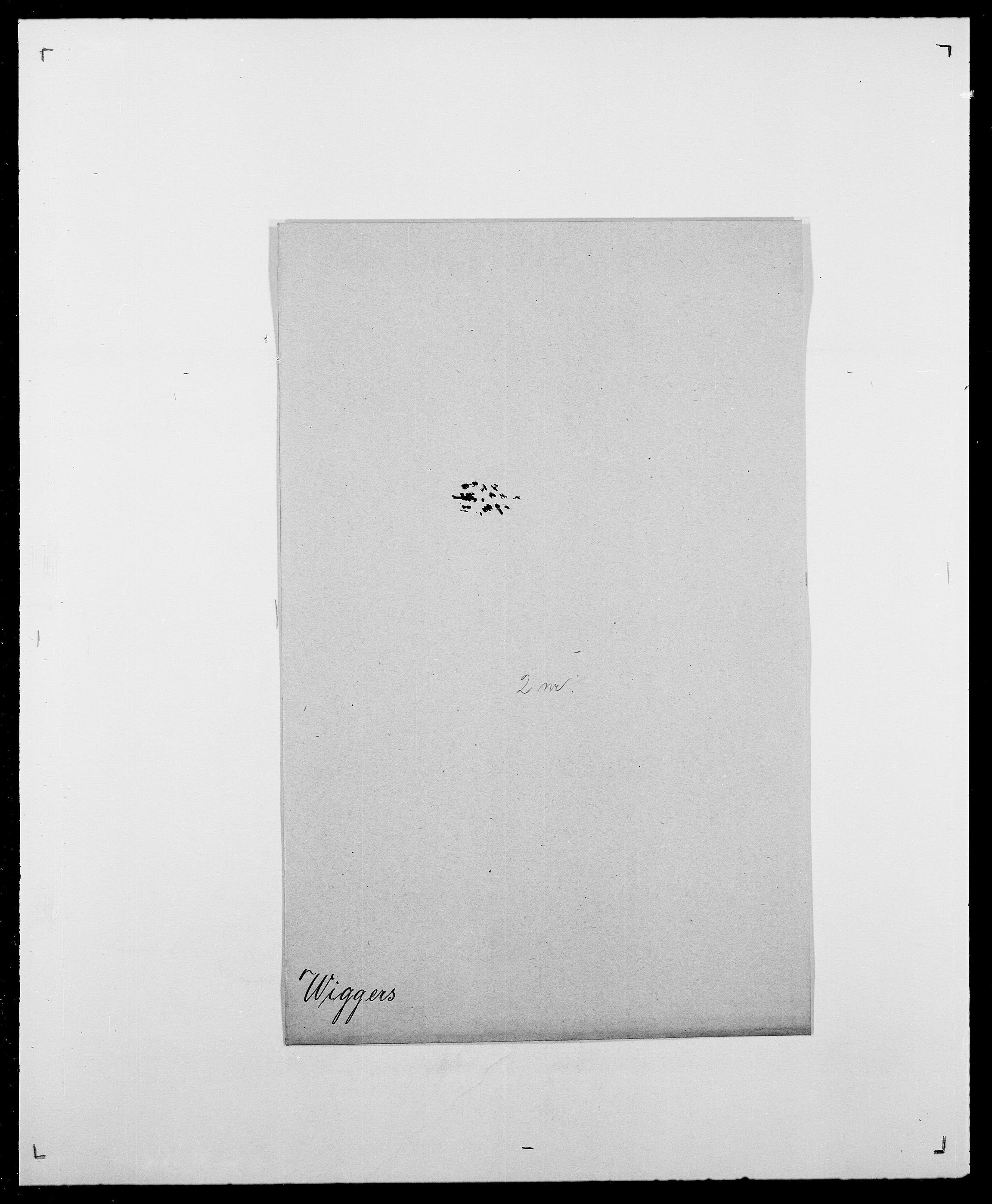SAO, Delgobe, Charles Antoine - samling, D/Da/L0041: Vemmestad - Viker, s. 698