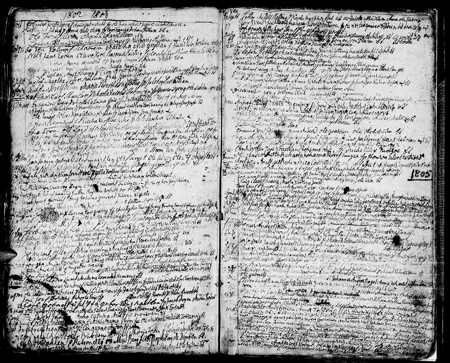 SAT, Ministerialprotokoller, klokkerbøker og fødselsregistre - Sør-Trøndelag, 634/L0526: Ministerialbok nr. 634A02, 1775-1818, s. 138