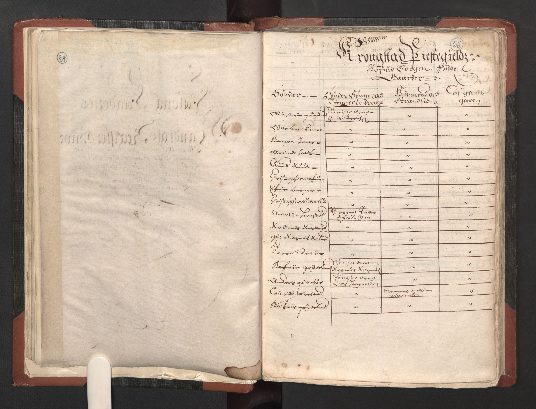 RA, Fogdenes og sorenskrivernes manntall 1664-1666, nr. 2: Aker fogderi, Follo fogderi, Nedre Romerike fogderi og Øvre Romerike fogderi, 1664, s. 54-55