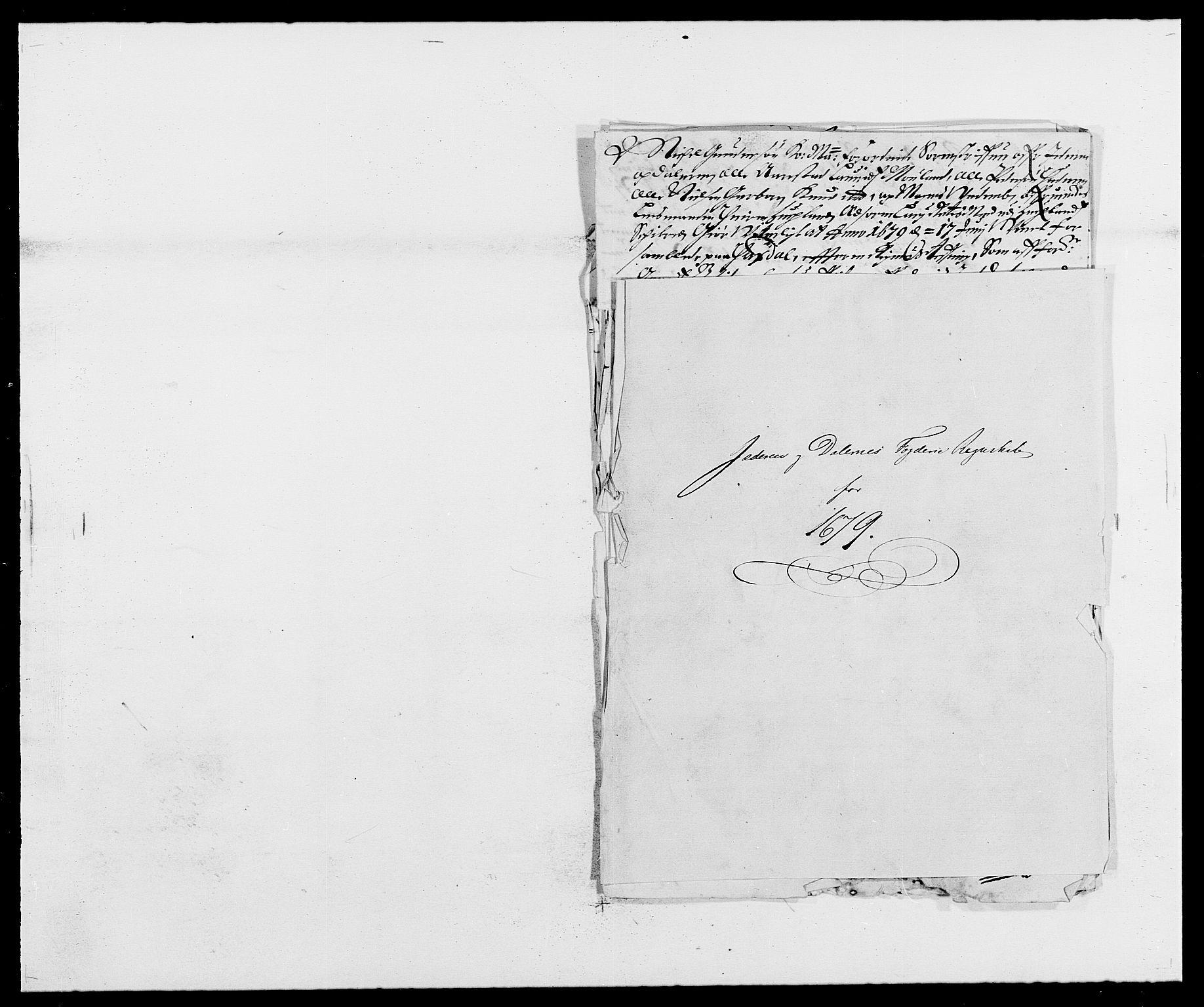 RA, Rentekammeret inntil 1814, Reviderte regnskaper, Fogderegnskap, R46/L2720: Fogderegnskap Jæren og Dalane, 1679, s. 1
