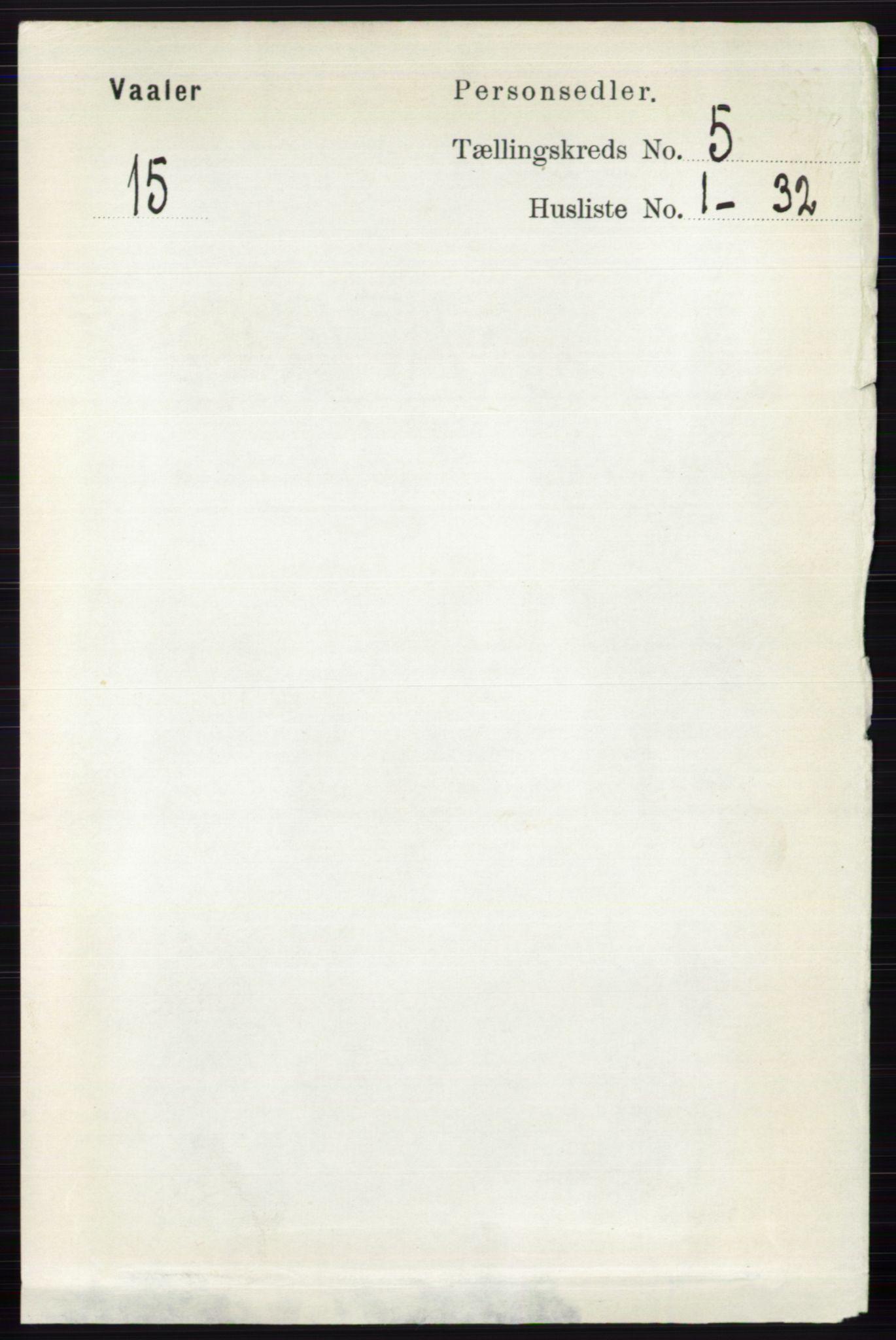 RA, Folketelling 1891 for 0426 Våler herred, 1891, s. 1896