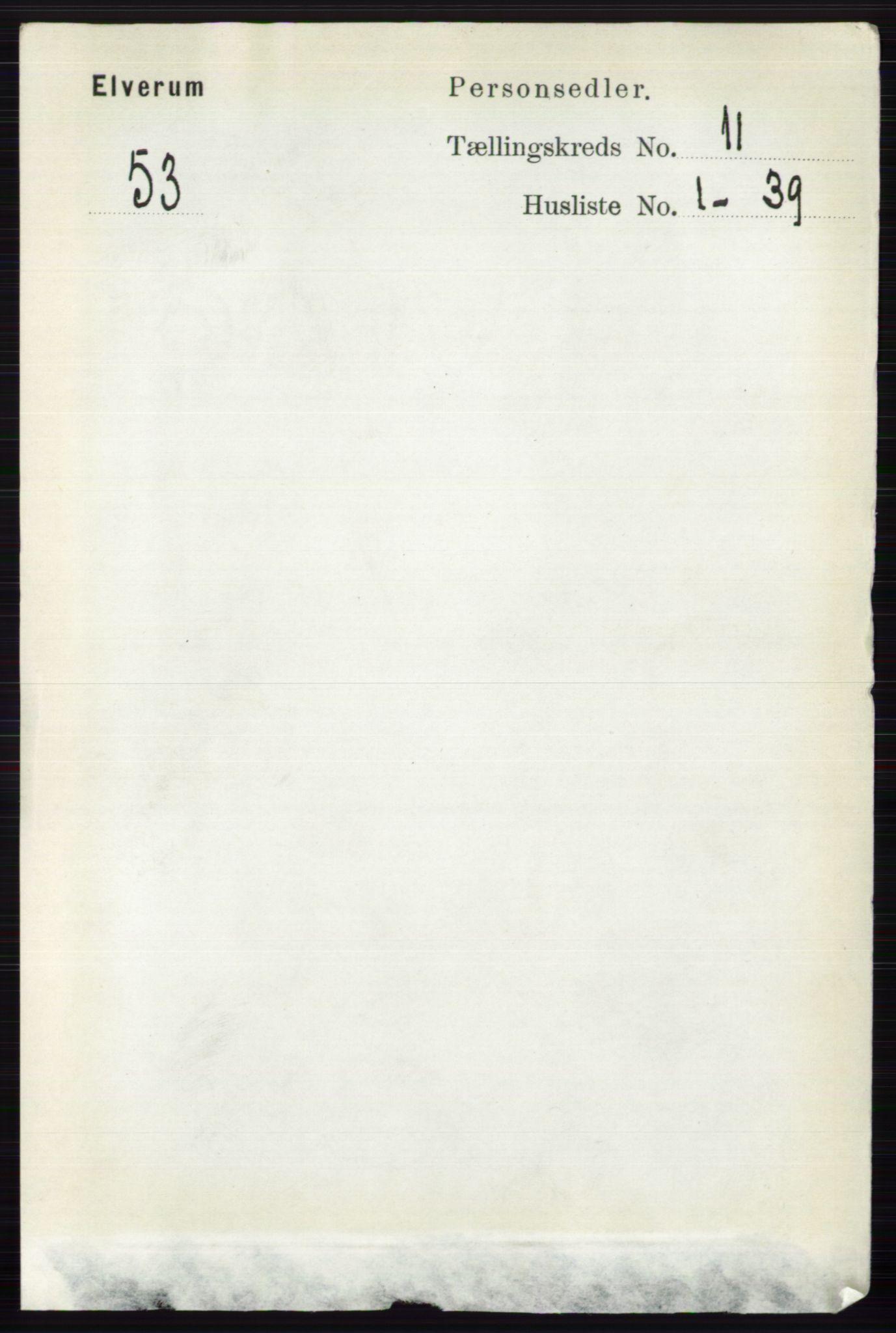 RA, Folketelling 1891 for 0427 Elverum herred, 1891, s. 9048