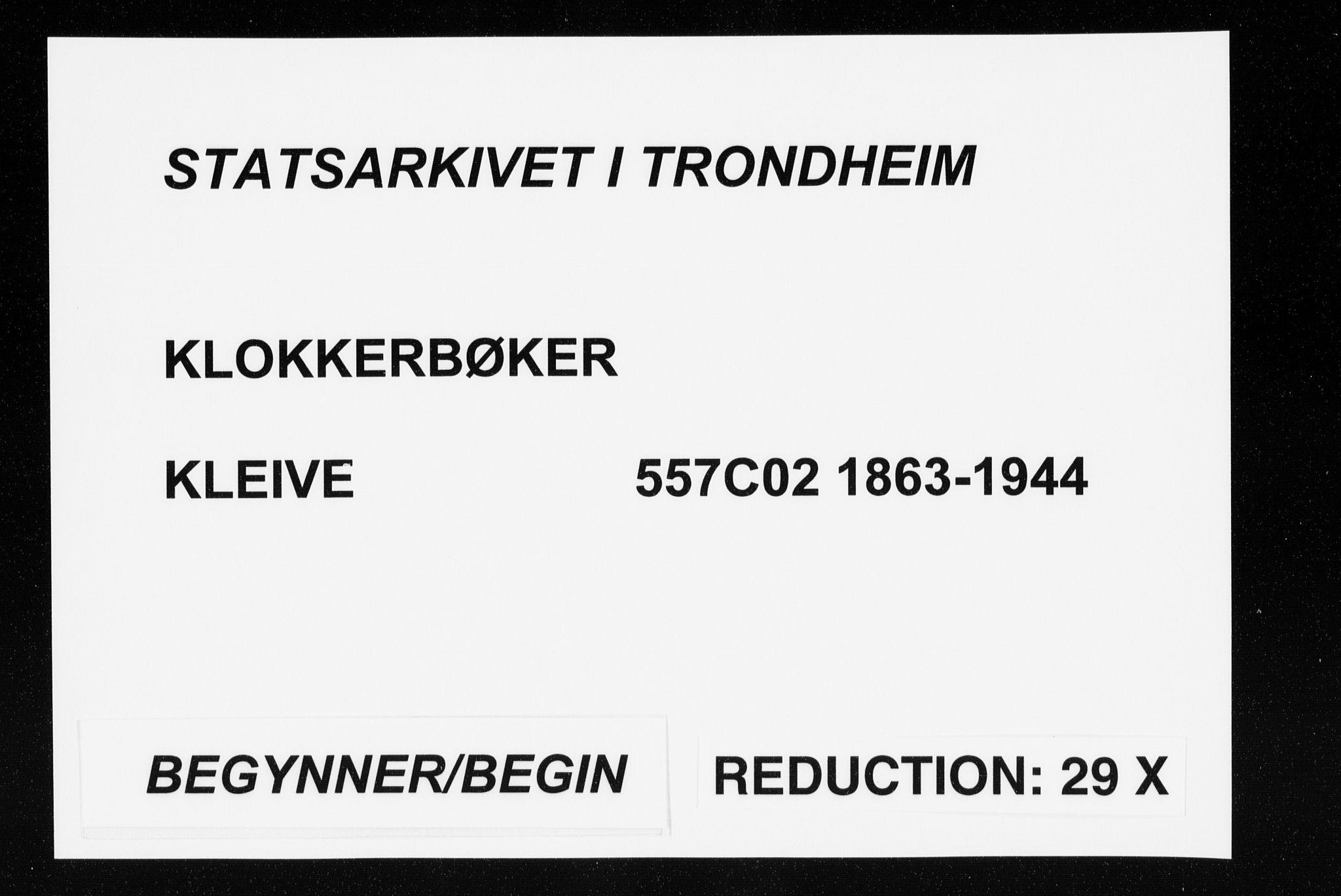 SAT, Ministerialprotokoller, klokkerbøker og fødselsregistre - Møre og Romsdal, 557/L0684: Klokkerbok nr. 557C02, 1863-1944