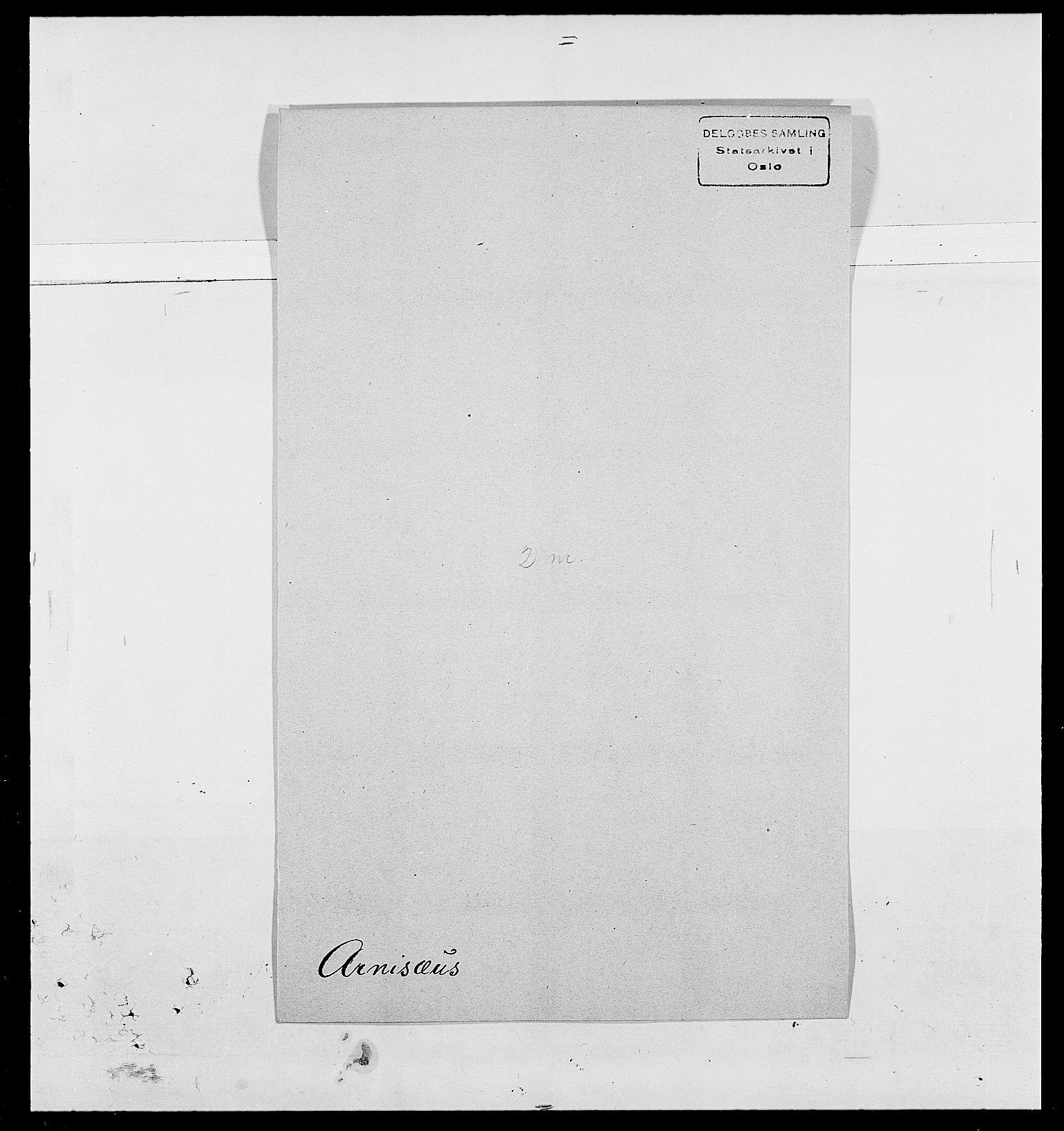 SAO, Delgobe, Charles Antoine - samling, D/Da/L0002: Anker, Ancher - Bauner, s. 355