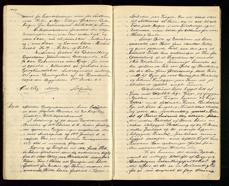 SAST, PA 1533 - A/S Vestlandske Petroleumscompani, A/Aa/L0001: Generalforsamlinger og styreprotokoller, 1907-1915, s. 23