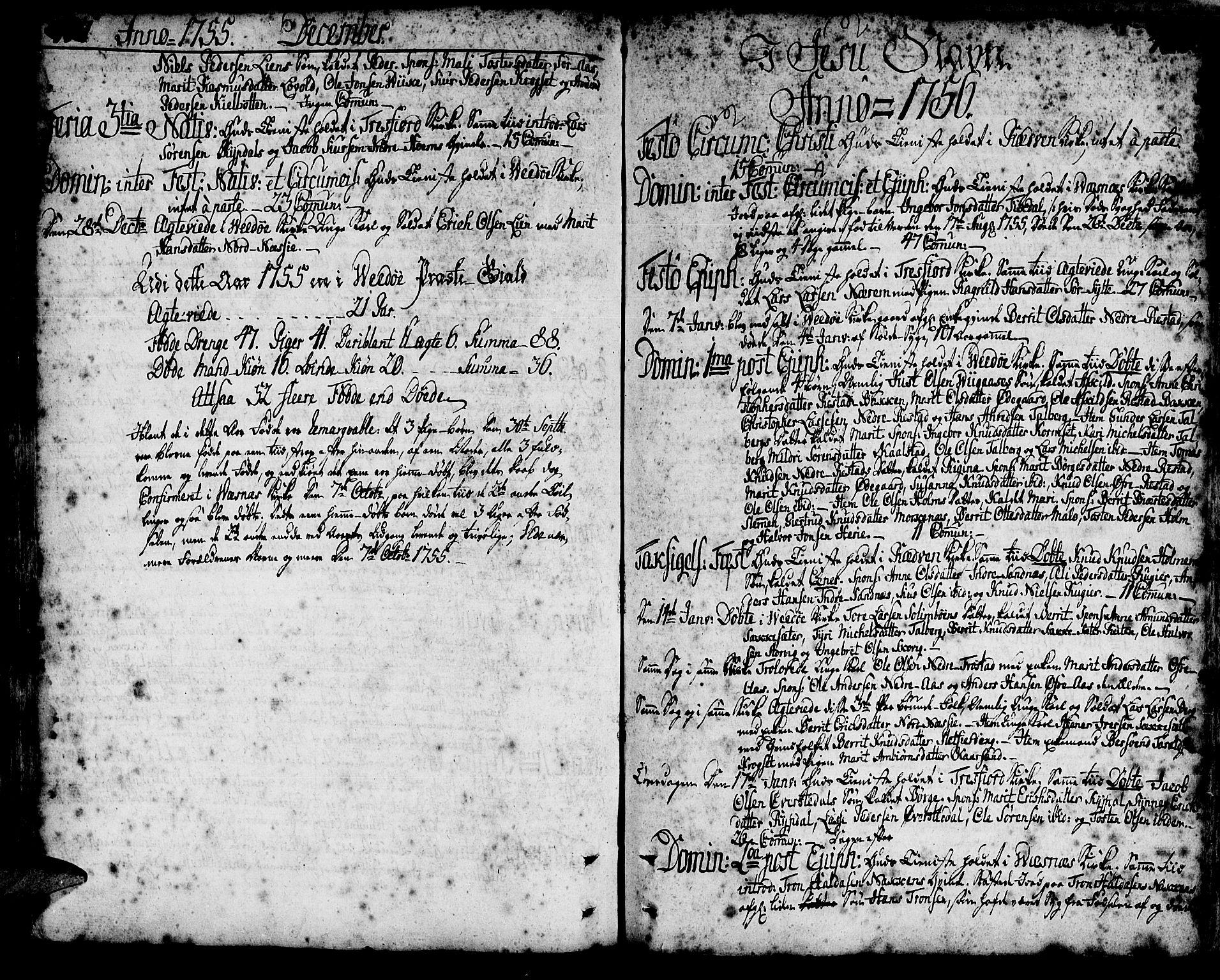 SAT, Ministerialprotokoller, klokkerbøker og fødselsregistre - Møre og Romsdal, 547/L0599: Ministerialbok nr. 547A01, 1721-1764, s. 407-408