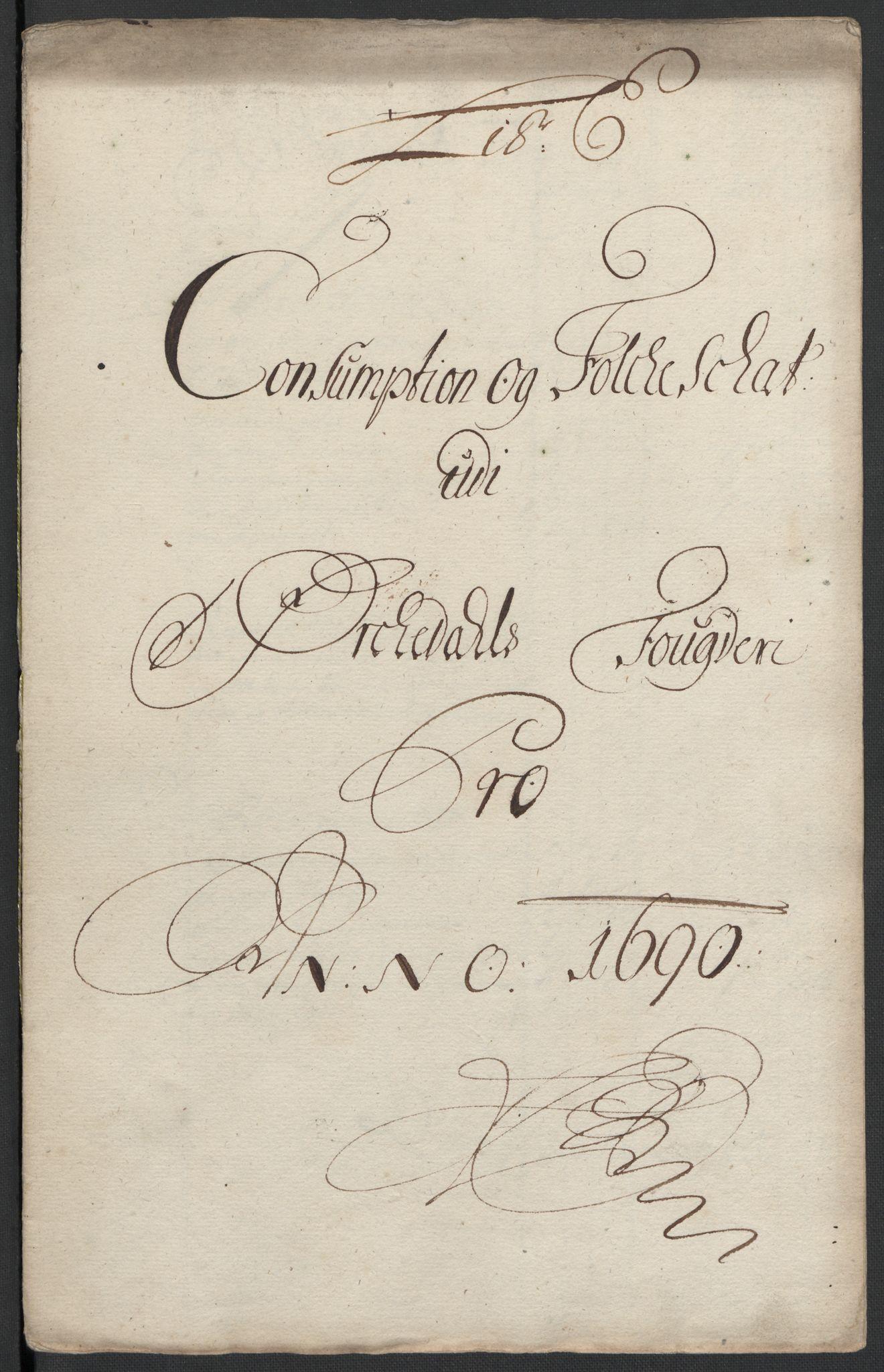 RA, Rentekammeret inntil 1814, Reviderte regnskaper, Fogderegnskap, R58/L3936: Fogderegnskap Orkdal, 1689-1690, s. 361