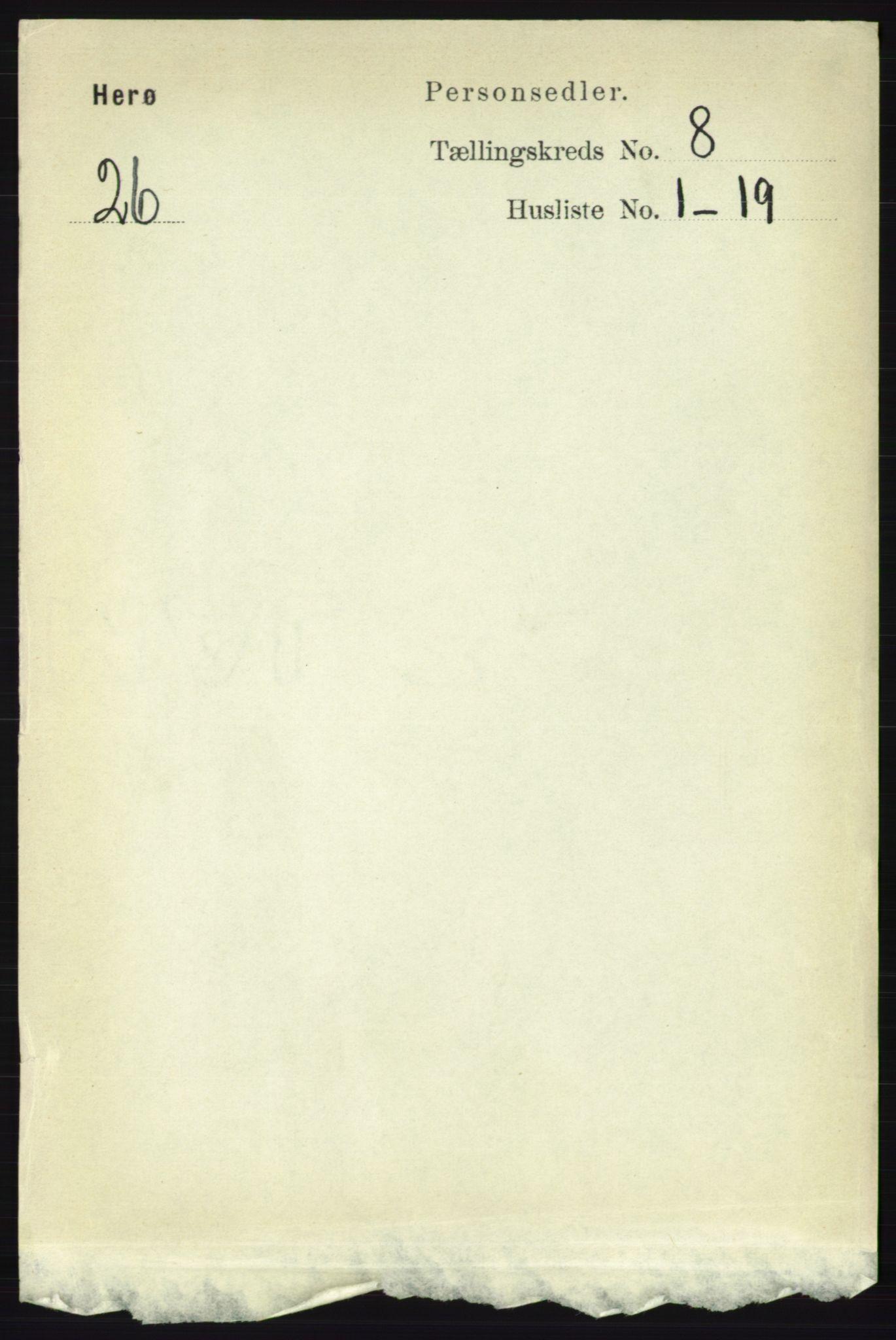 RA, Folketelling 1891 for 1818 Herøy herred, 1891, s. 2591