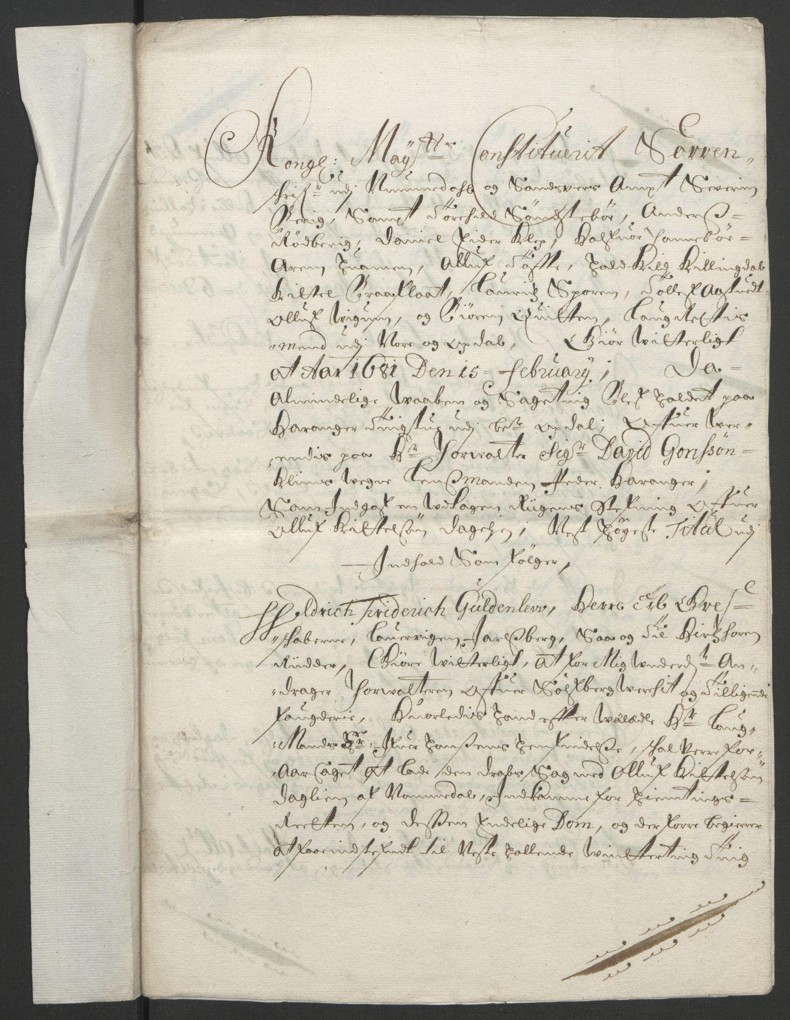 RA, Rentekammeret inntil 1814, Reviderte regnskaper, Fogderegnskap, R24/L1572: Fogderegnskap Numedal og Sandsvær, 1679-1686, s. 204